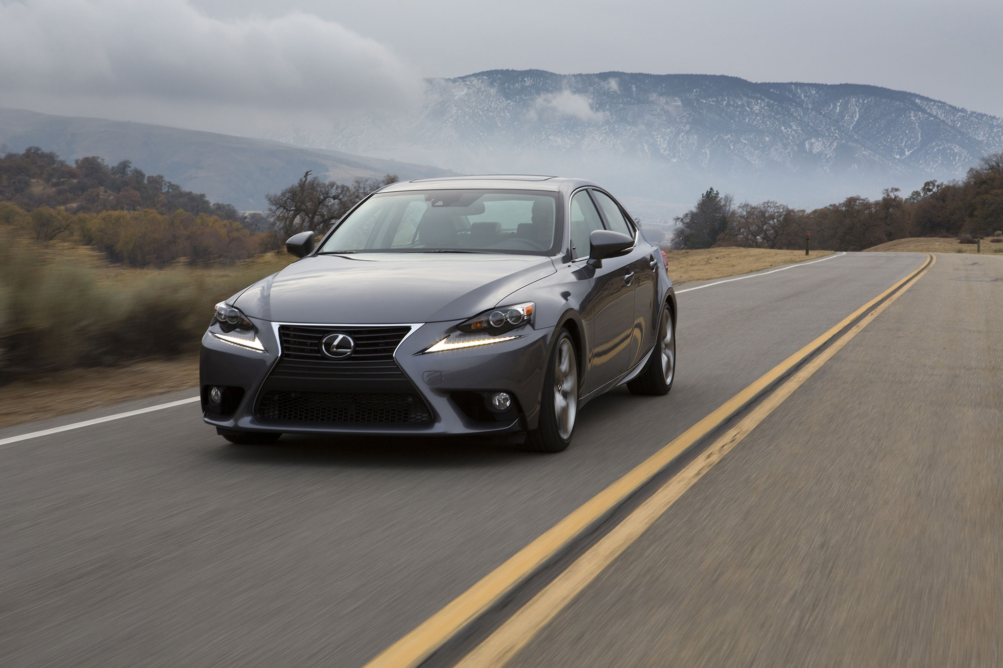 155 miles in washington with a 2014 lexus is350 automobile magazine. Black Bedroom Furniture Sets. Home Design Ideas