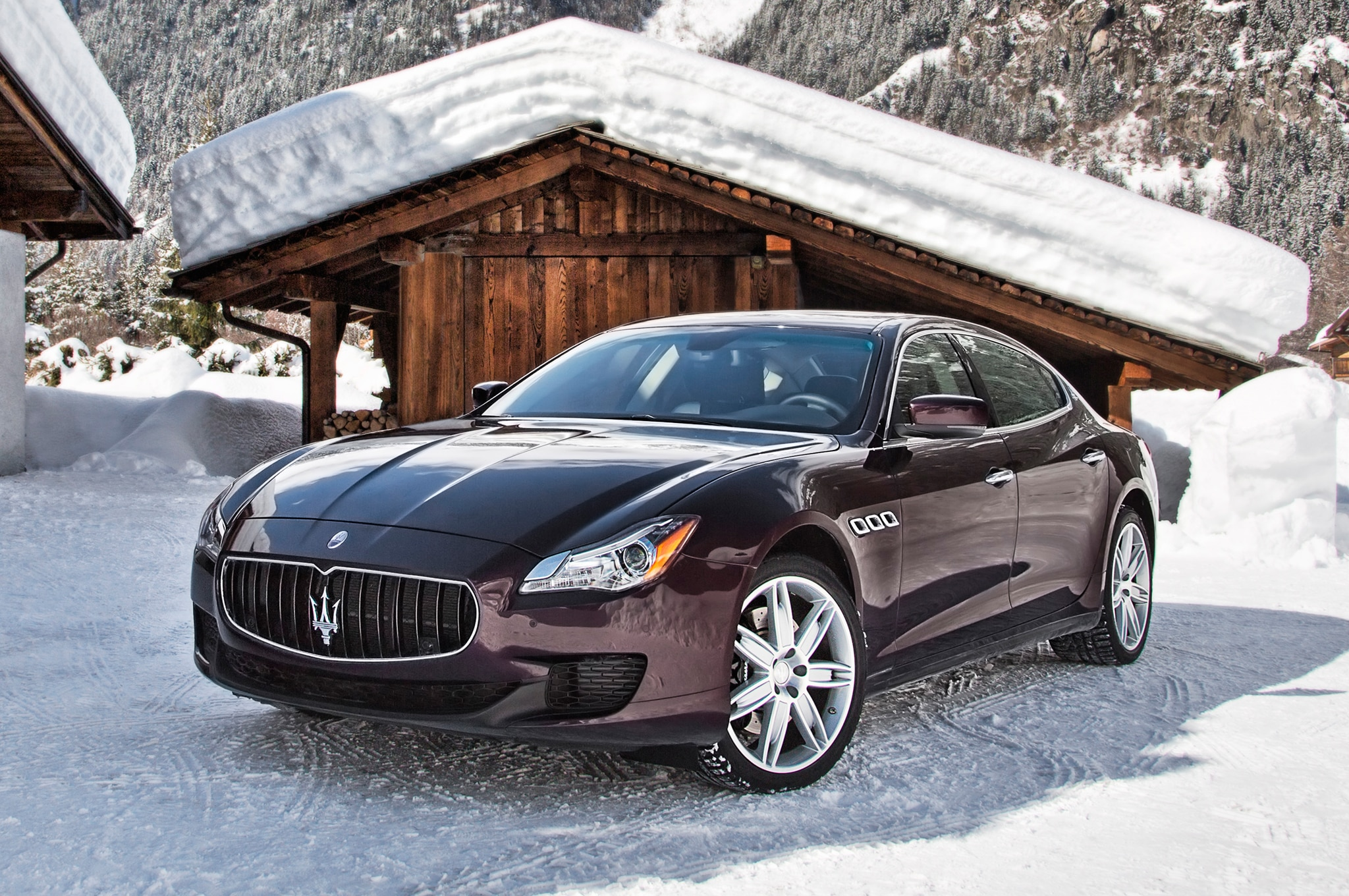 maserati quattroporte q4 bestcarmag block around side front