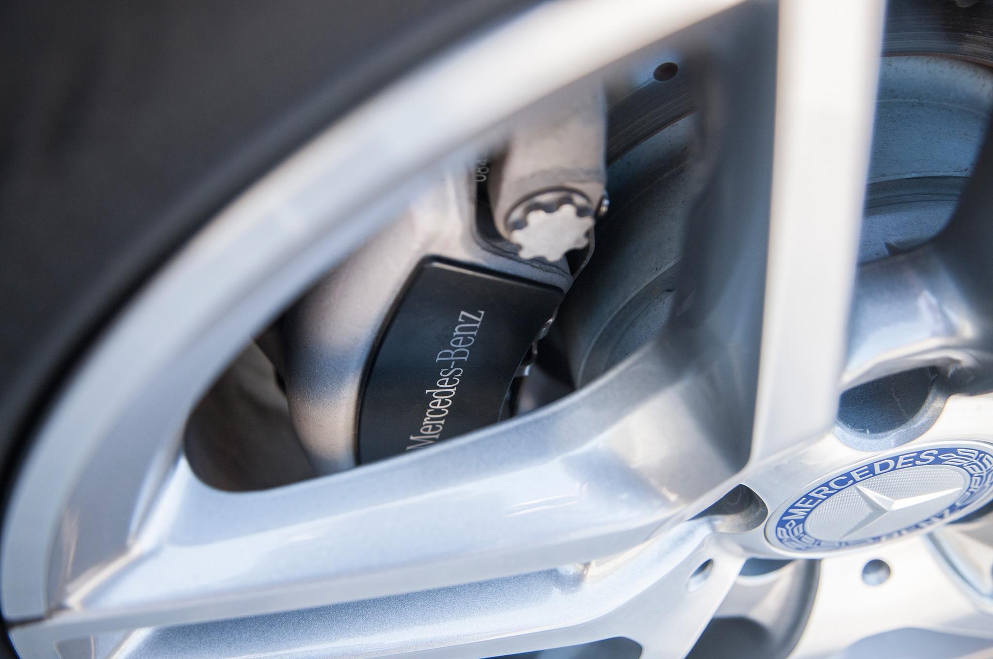 First drive 2014 mercedes benz e class automobile magazine for Mercedes benz brake calipers
