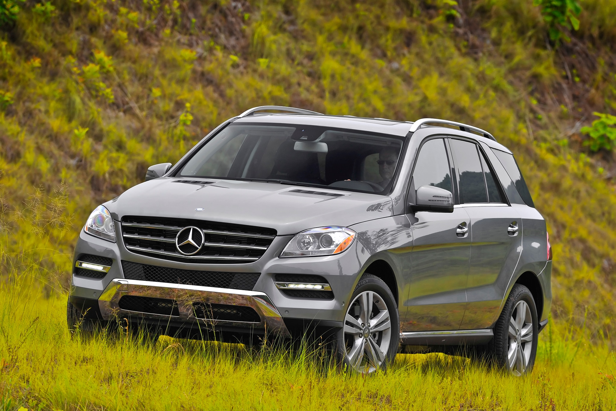 2014 mercedes benz m class rated top safety pick for Mercedes benz 2014 ml350