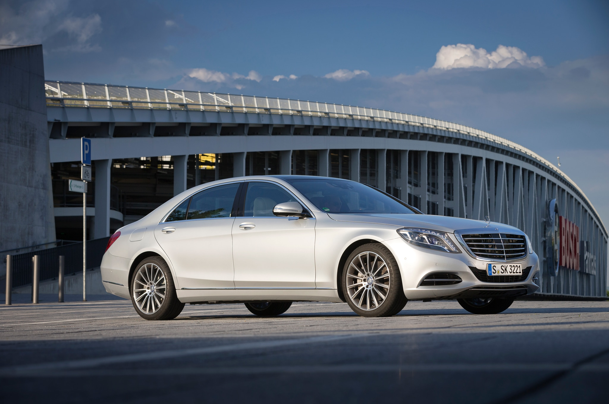 2014 mercedes benz s550 2014 automobile of the year finalist for Mercedes benz ag