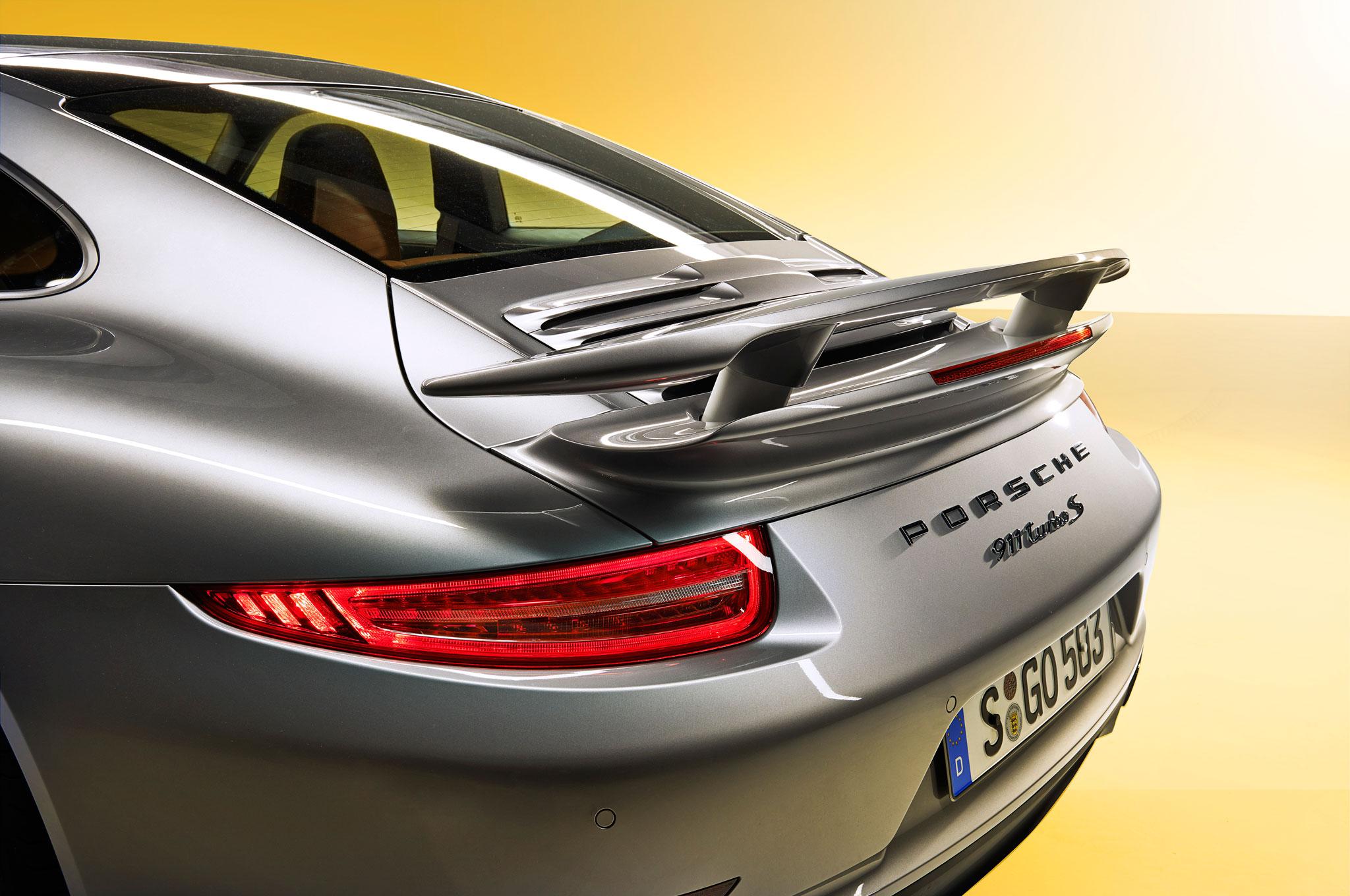 2014-Porsche-911-Turbo-spoiler-raised Exciting Porsche 911 Gt2 La Centrale Cars Trend