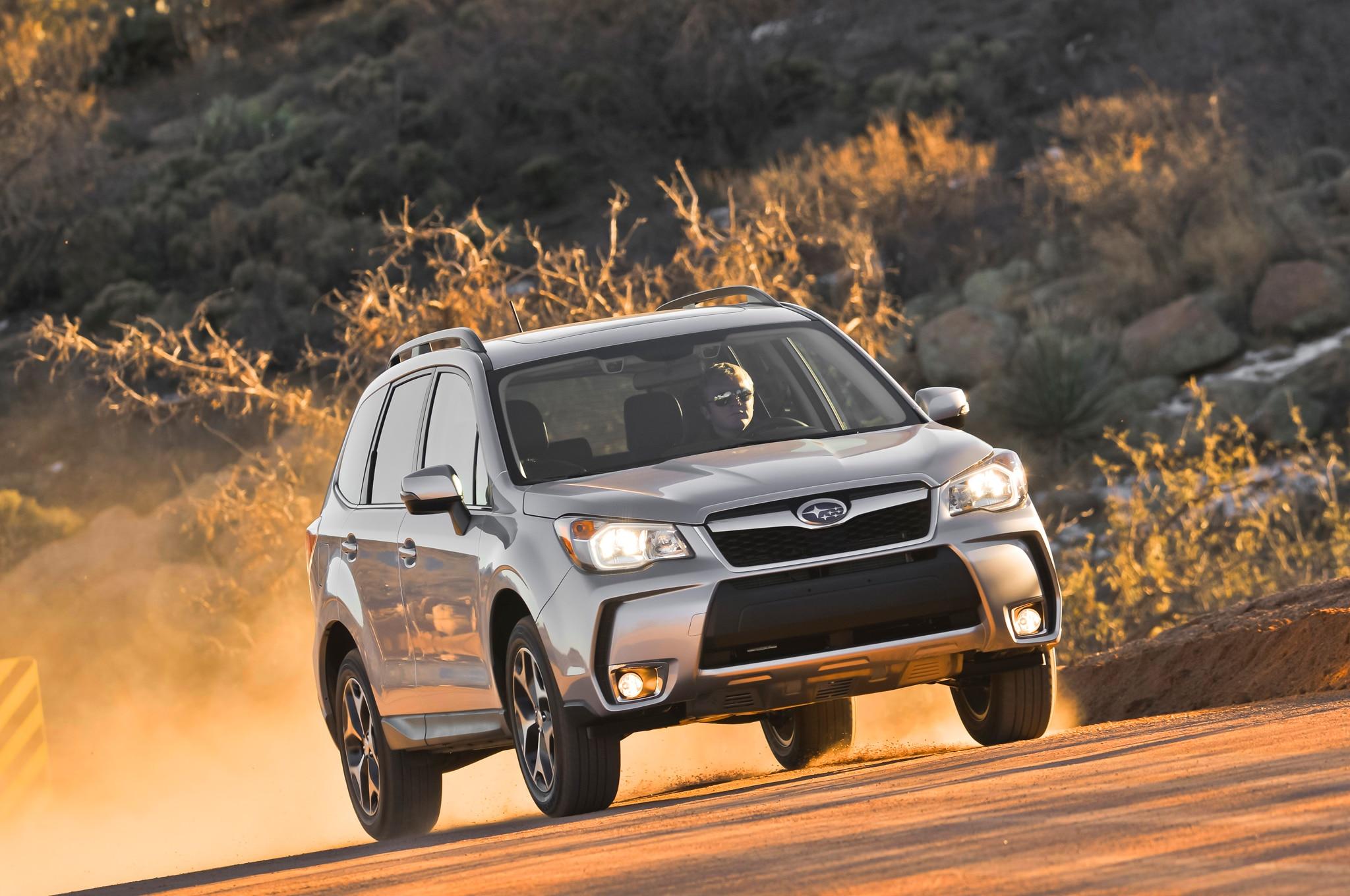 First Drive 2014 Subaru Forester Automobile Magazine
