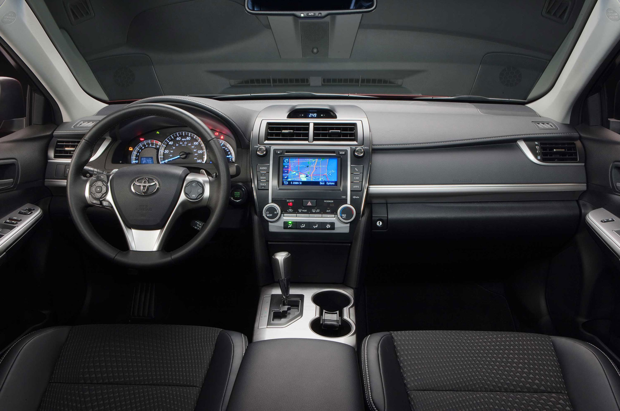 2014-Toyota-Camry-SE-interior-dash-view Stunning toyota Camry 2017 Le Vs Se Cars Trend