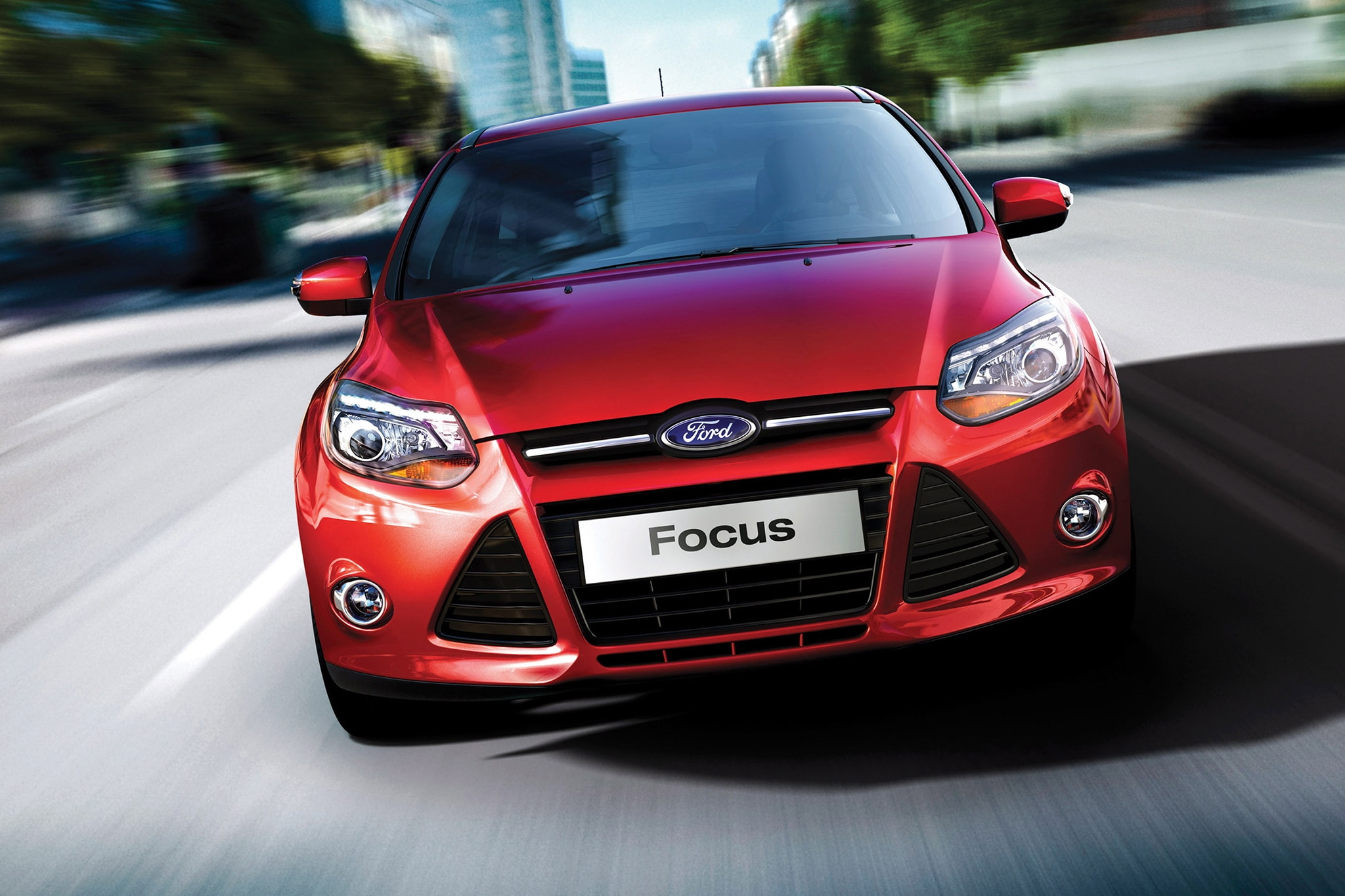 tuners tackle 2014 ford focus st for 2013 sema show. Black Bedroom Furniture Sets. Home Design Ideas