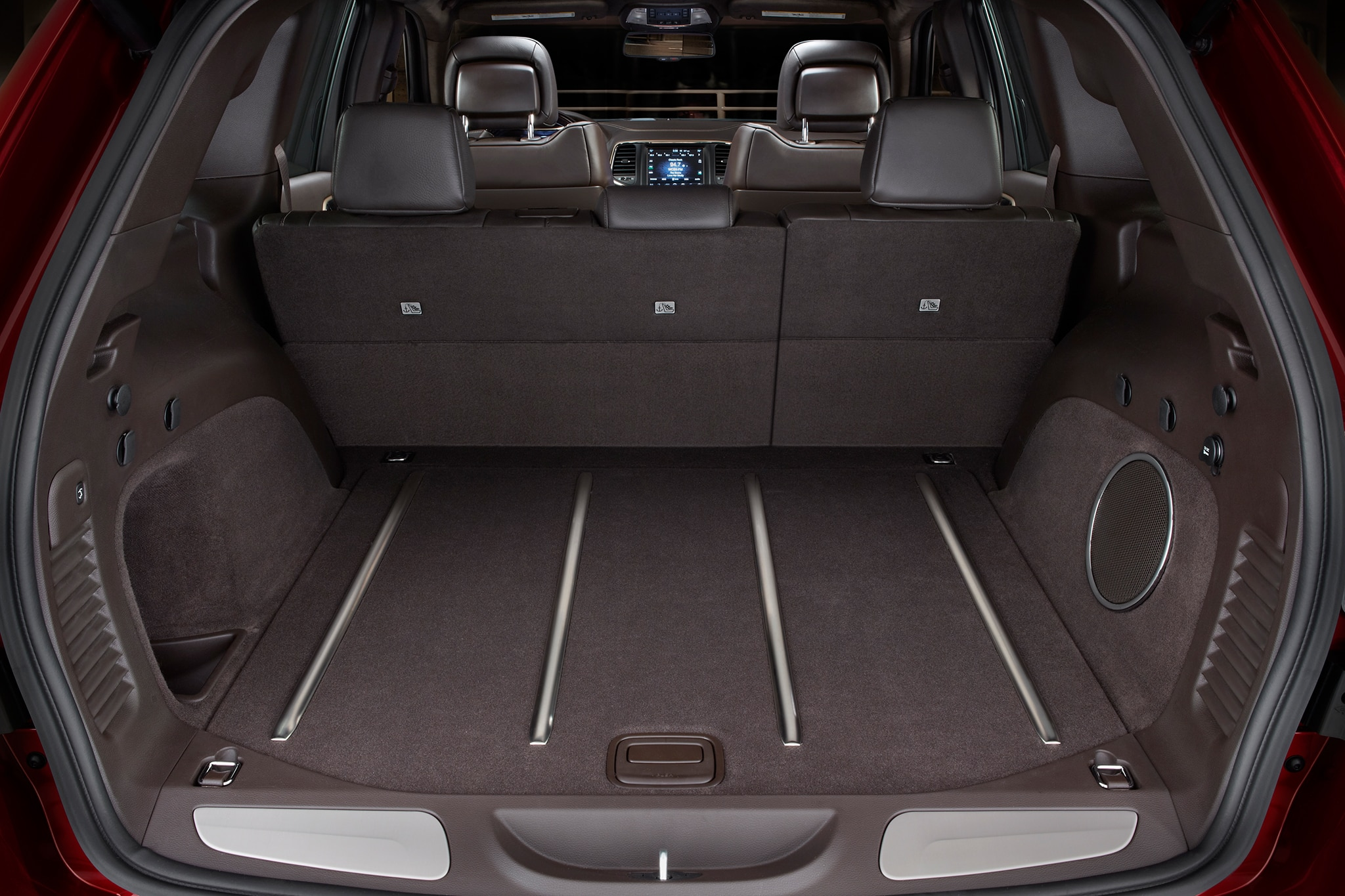 Jeep Grand Cherokee Summit Cargo Space View