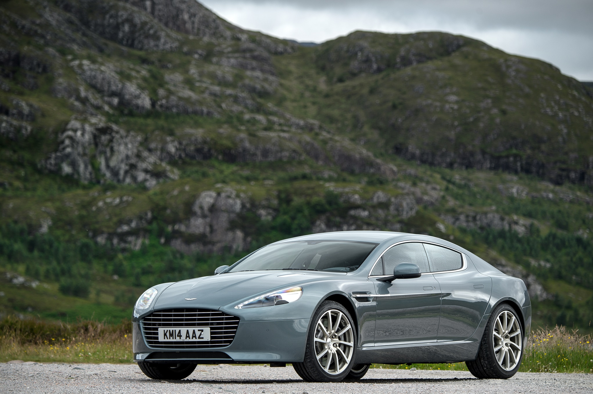 "Four Bespoke ""Q By Aston Martin"" Cars Shown At Monterey"