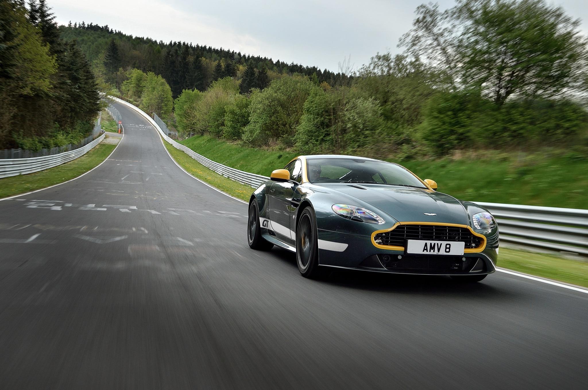 2015 aston martin v8 vantage gt review - automobile magazine