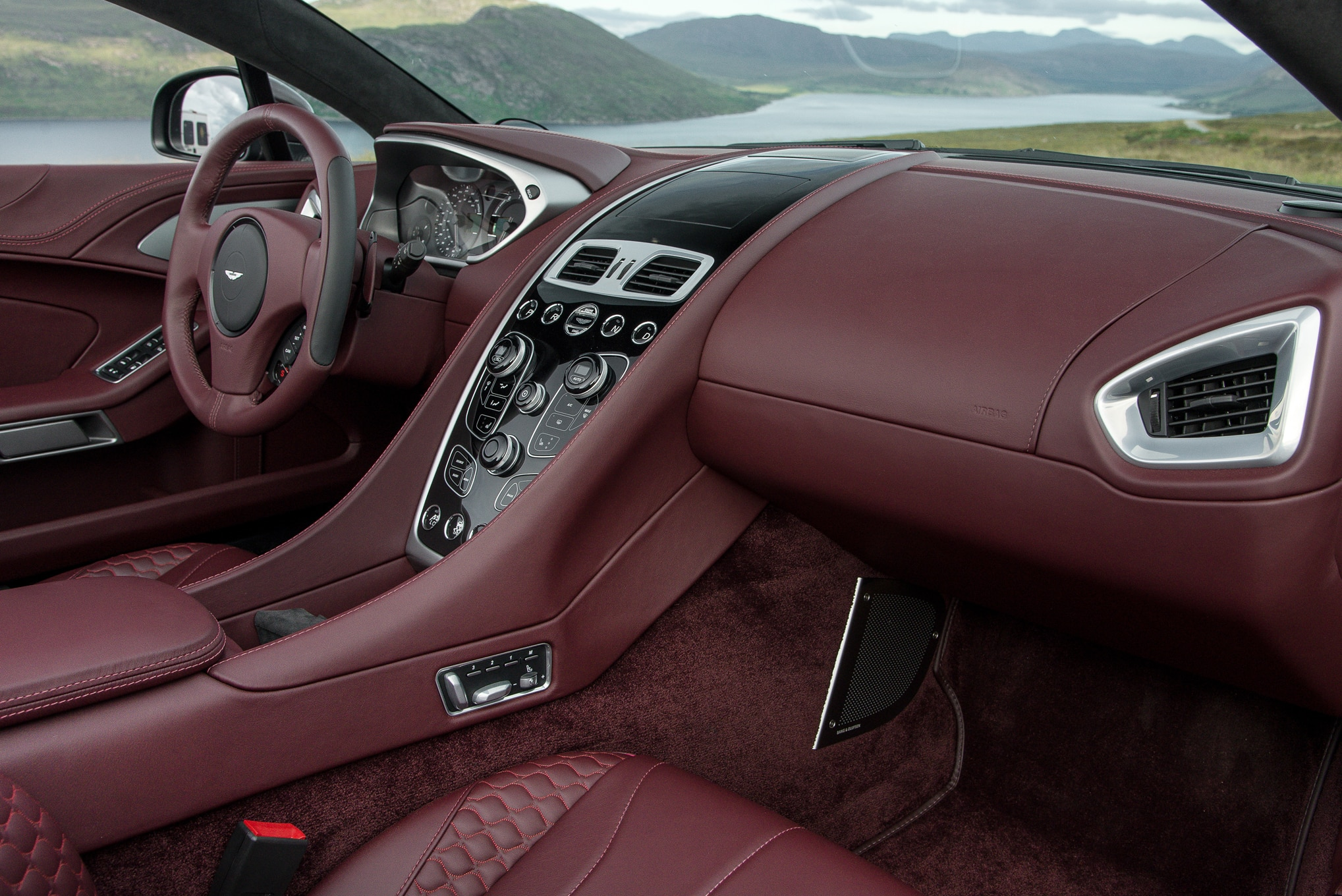 Aston martin works celebrates 60 years with limited for Aston martin db9 interior