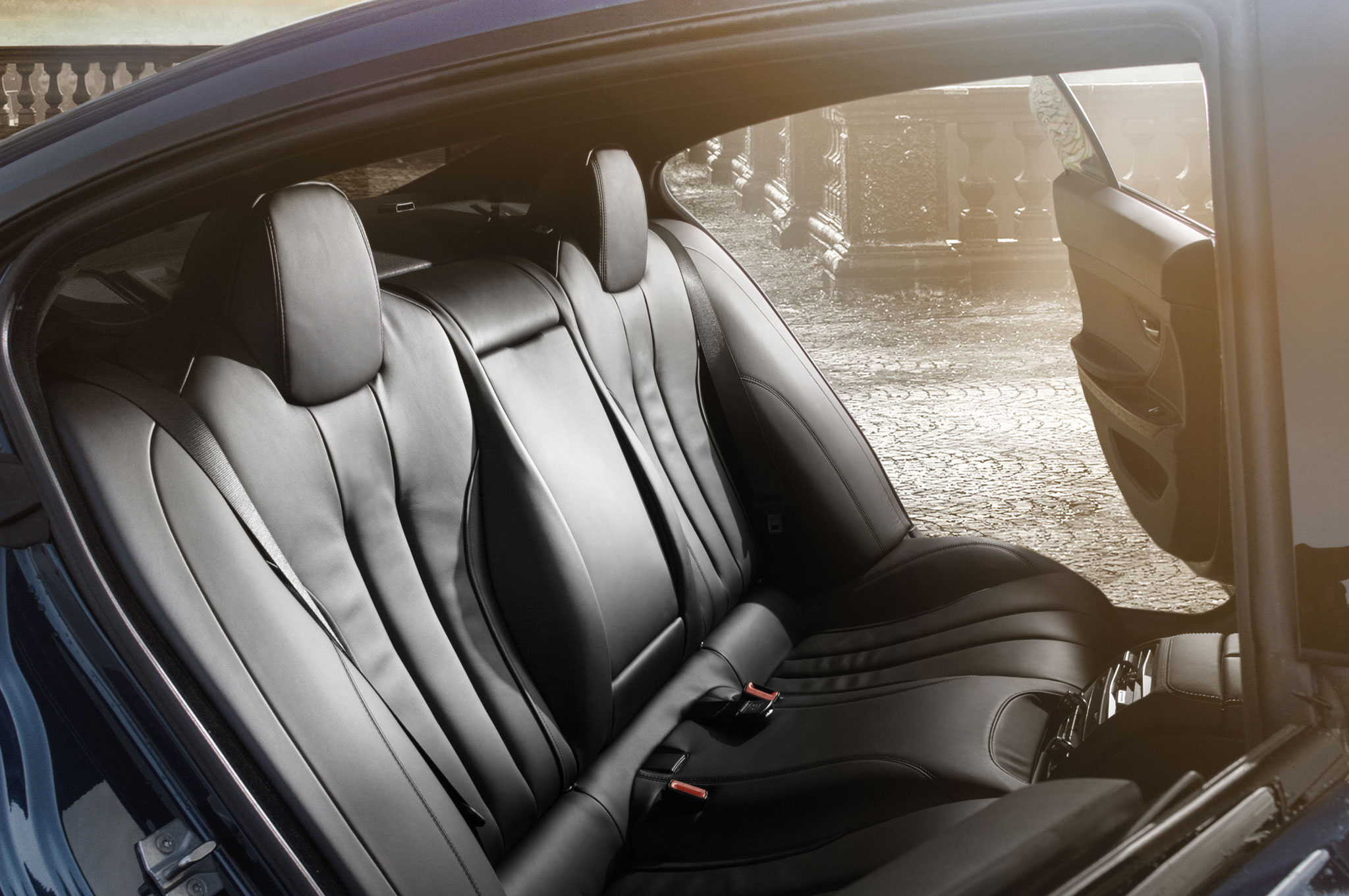 2015 BMW Alpina B6 Xdrive Gran Coupe Interior Rear Seat