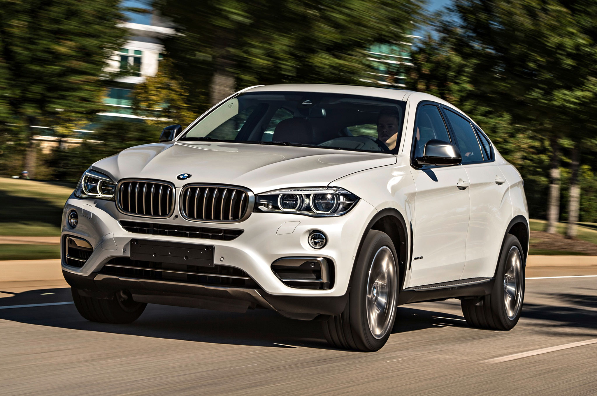 Bmw X6 M Takes On The Mercedes Amg Gle63 S Coupe On Head 2