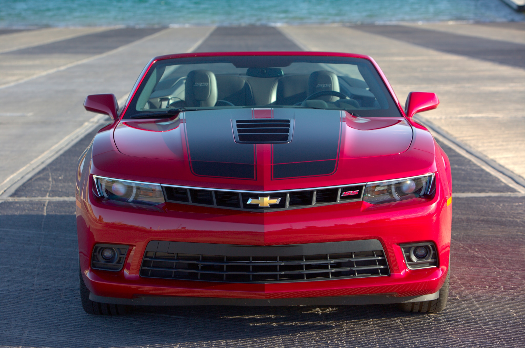 2015 chevrolet camaro ss with chevy performance parts. Black Bedroom Furniture Sets. Home Design Ideas