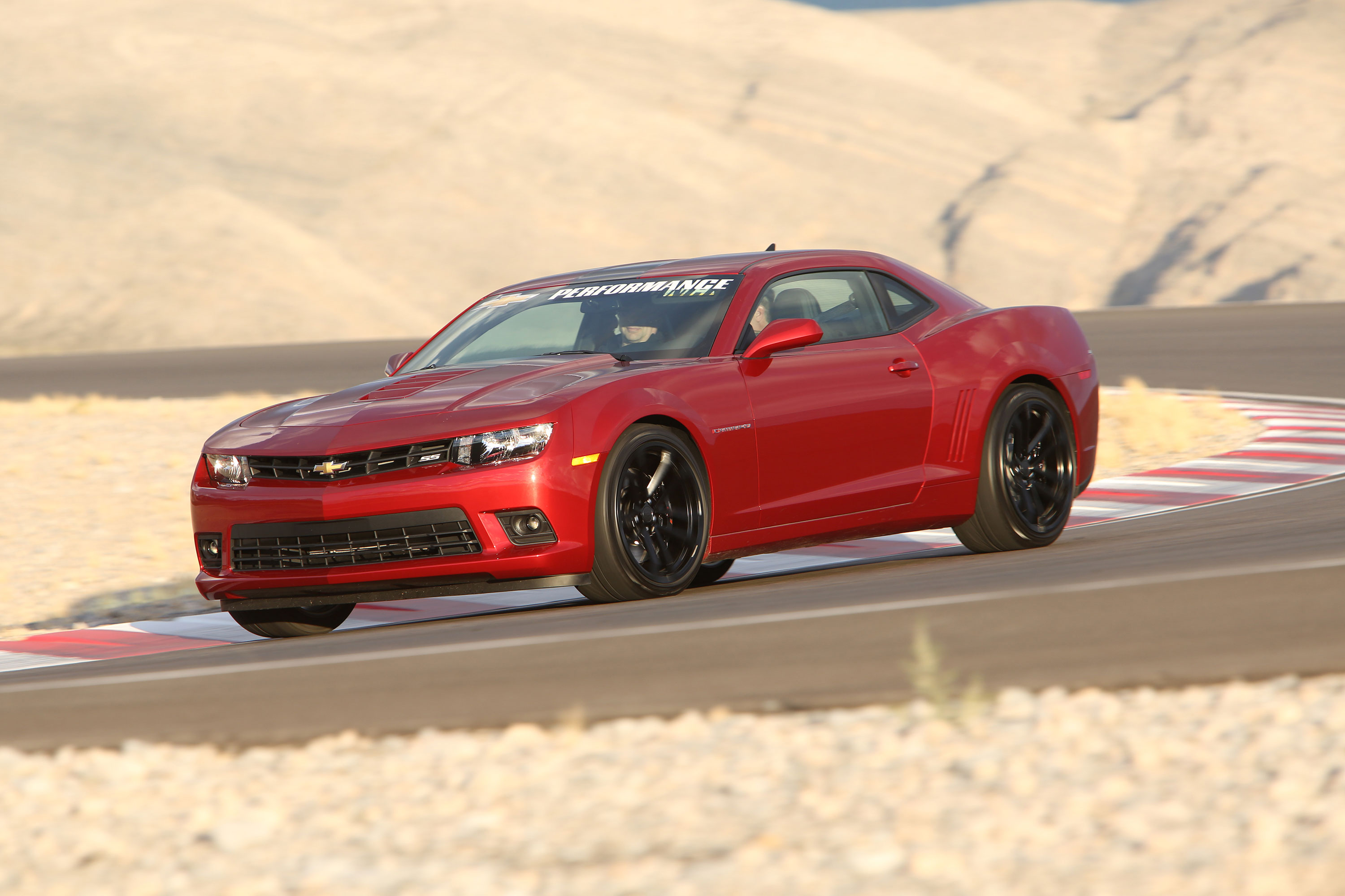2015 chevrolet camaro ss with chevy performance parts: quick drive
