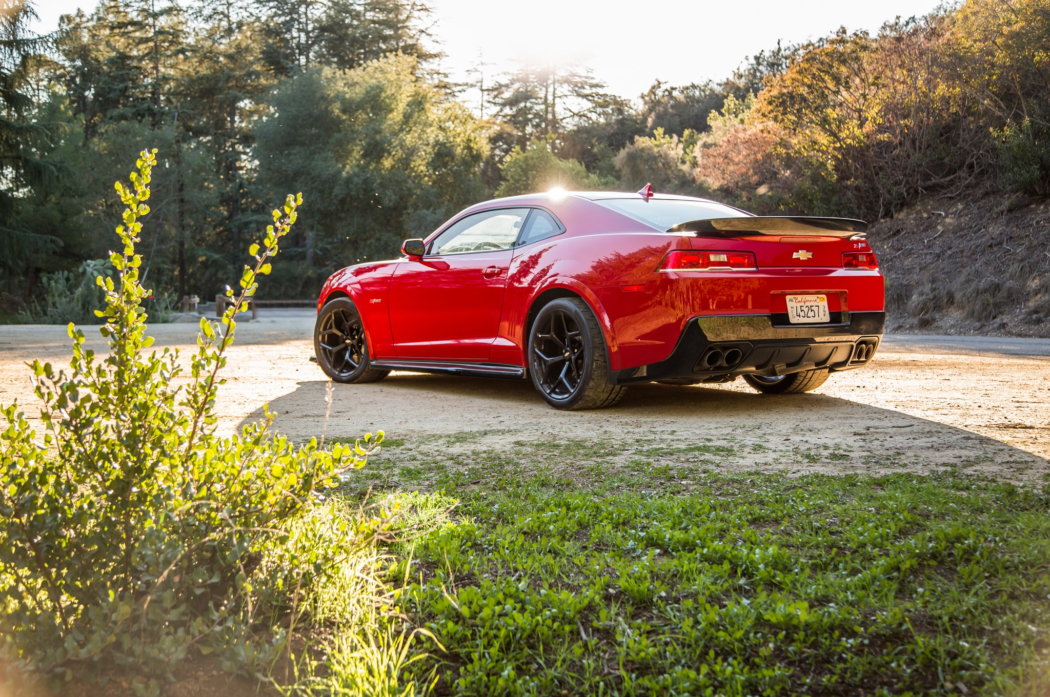 2015 Chevrolet Camaro Ss With Chevy Performance Parts