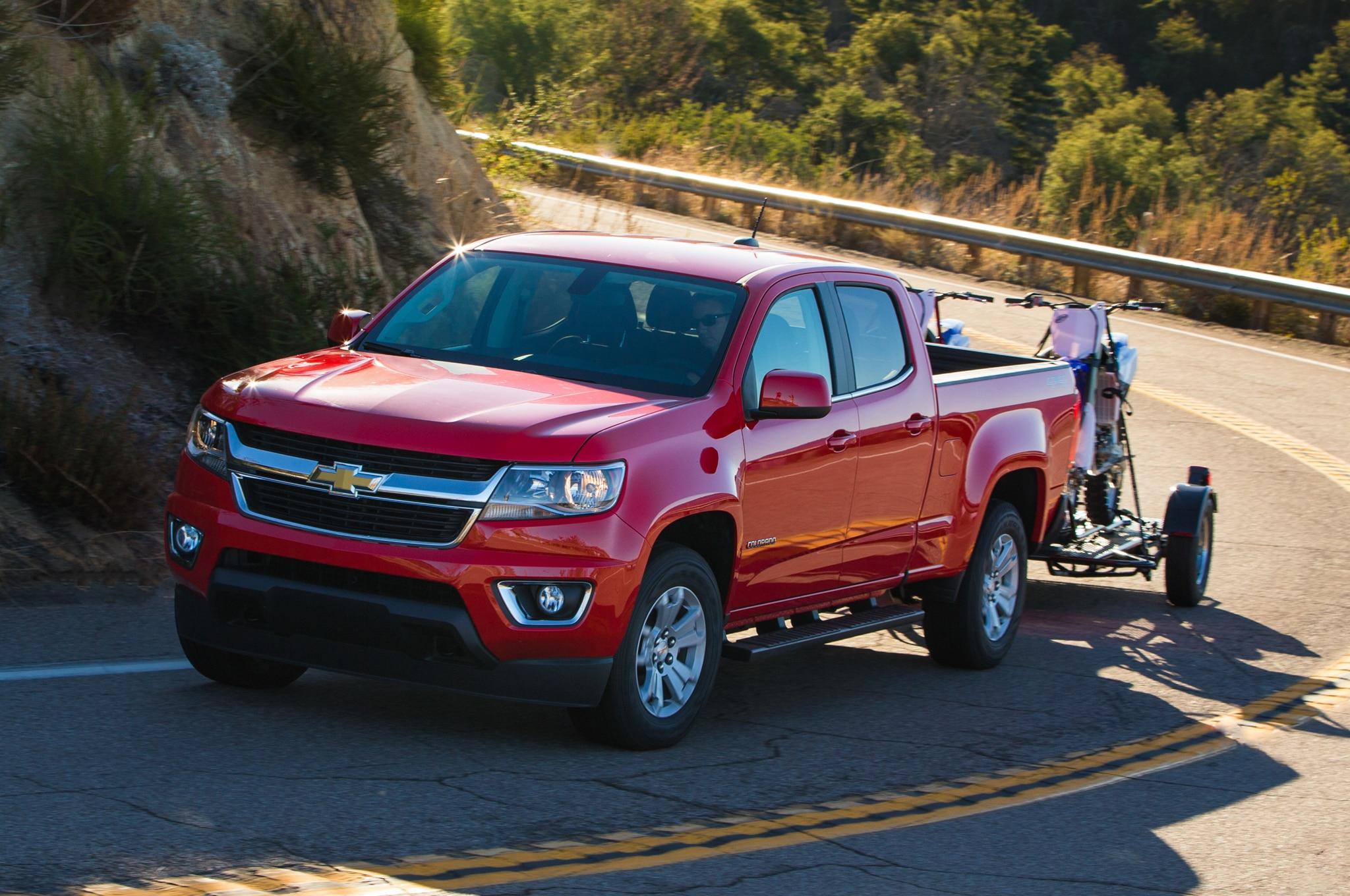 2015 Chevrolet Colorado GMC Canyon Powertrains Detailed Automobile