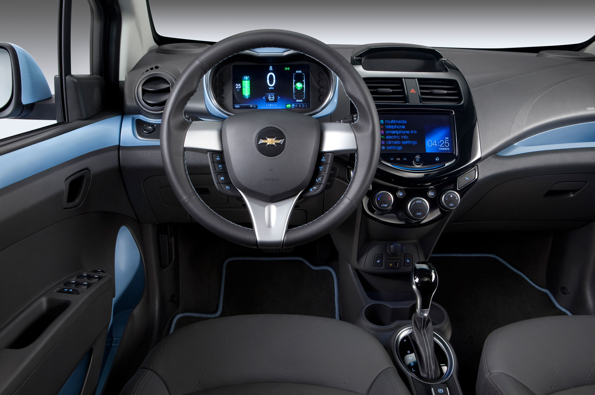 2015 Chevrolet Spark EV interior report chevrolet bolt ev begins production in michigan in 2016 2017 Chevy Spark EV at gsmx.co