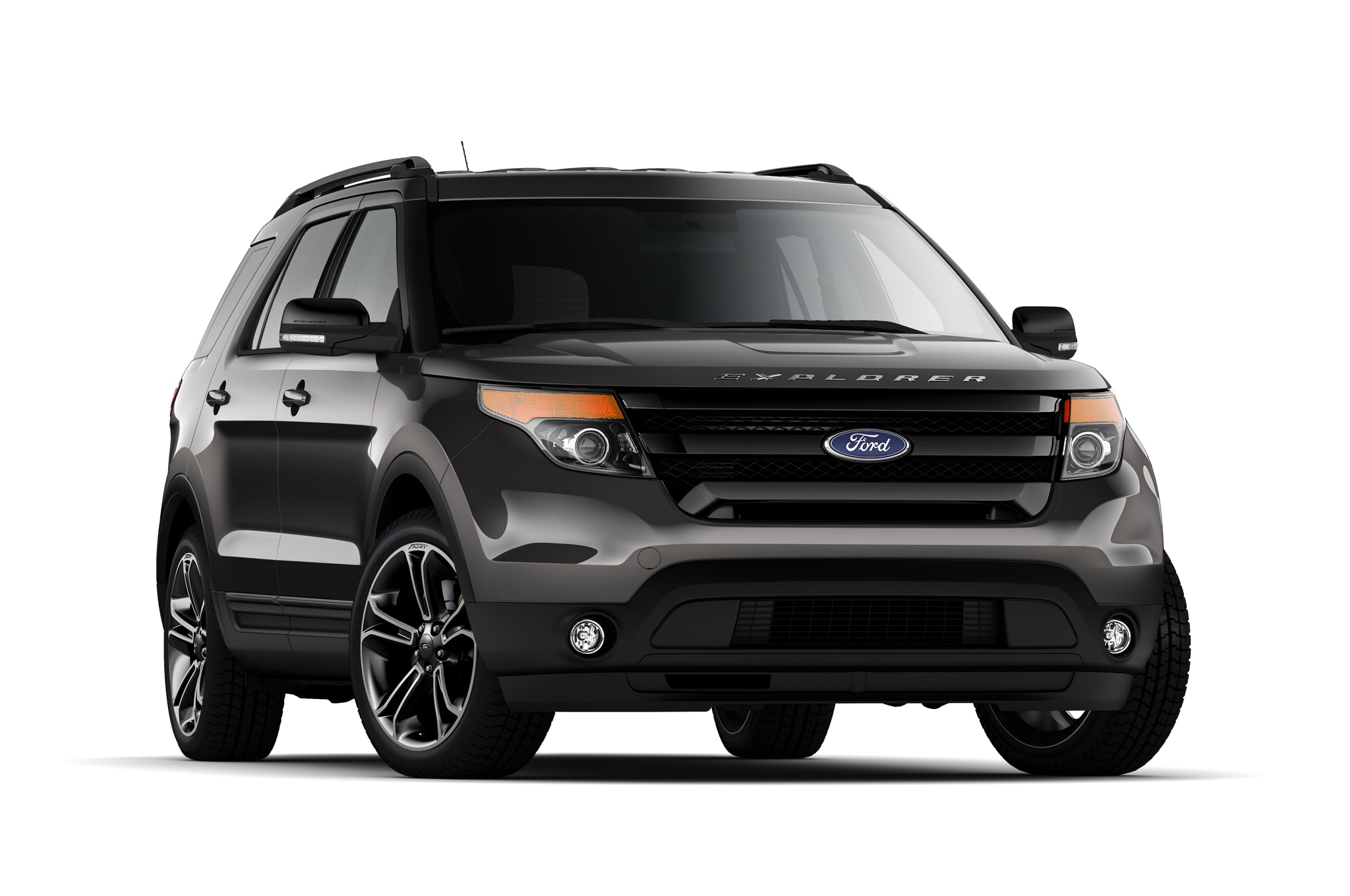 ford explorer prototype shows off revised front and rear. Black Bedroom Furniture Sets. Home Design Ideas