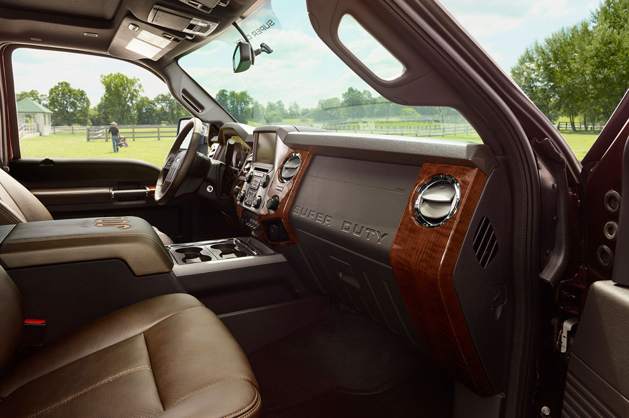 ford details interior and leather en super reviews king ranch motor trend duty rating f canada cars