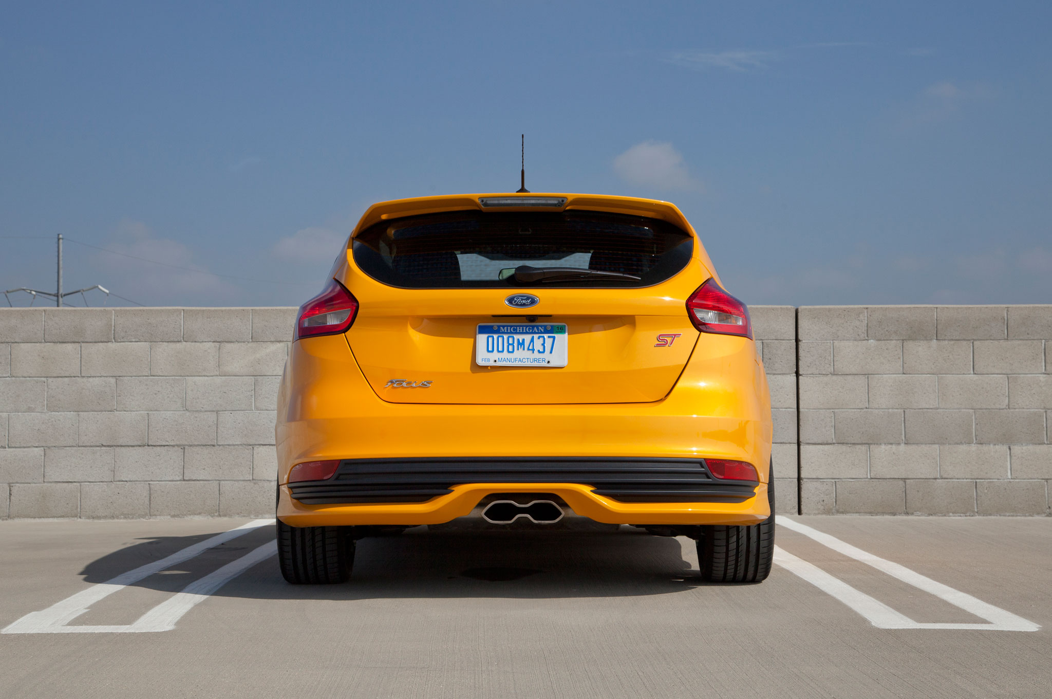2015 ford focus st with ford performance parts review. Cars Review. Best American Auto & Cars Review