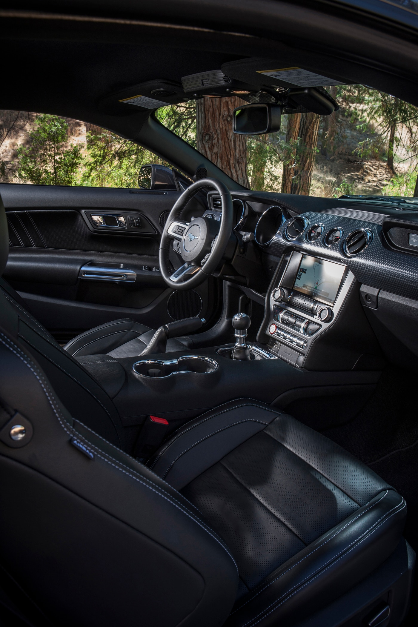 Ford claims mustang as best selling sport coupe worldwide for Ford mustang 2015 interior