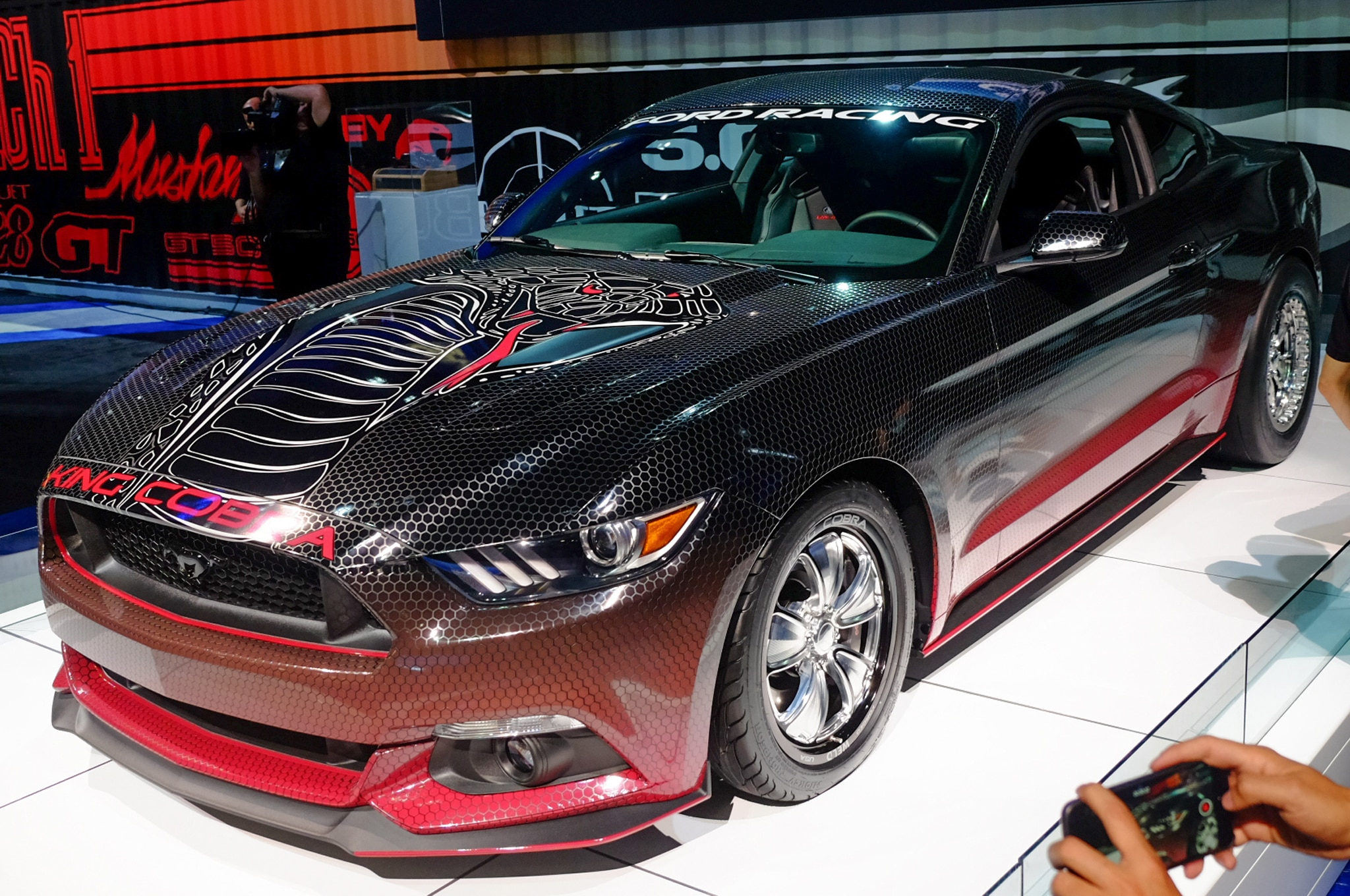 2015 Ford Mustsng King Cobra
