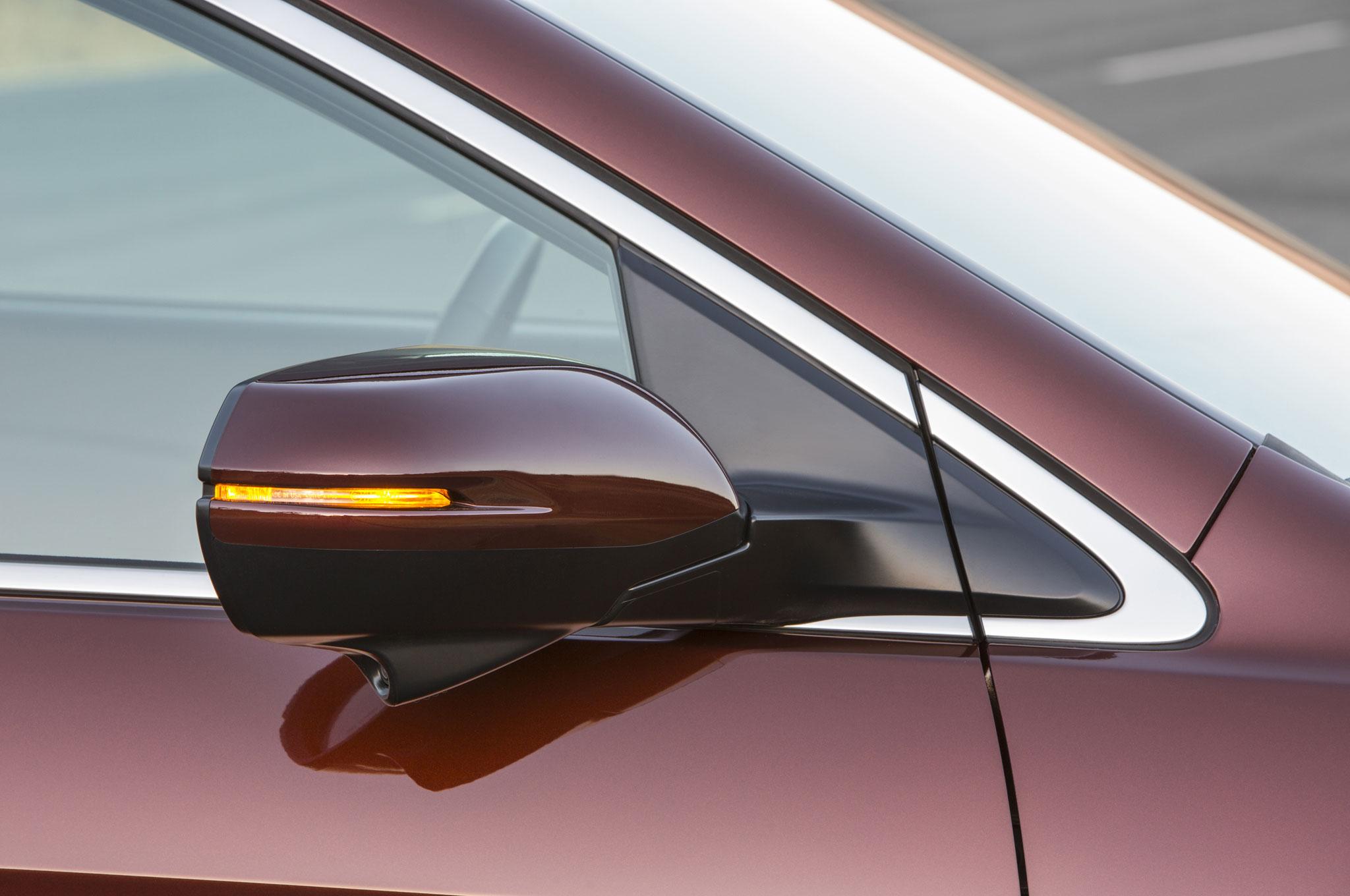 2015 honda cr v passenger door mirror