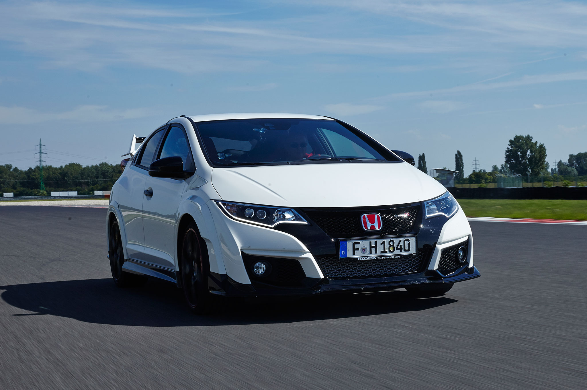 New honda civic type r has a top speed of 167 mph for Honda civic type r top speed