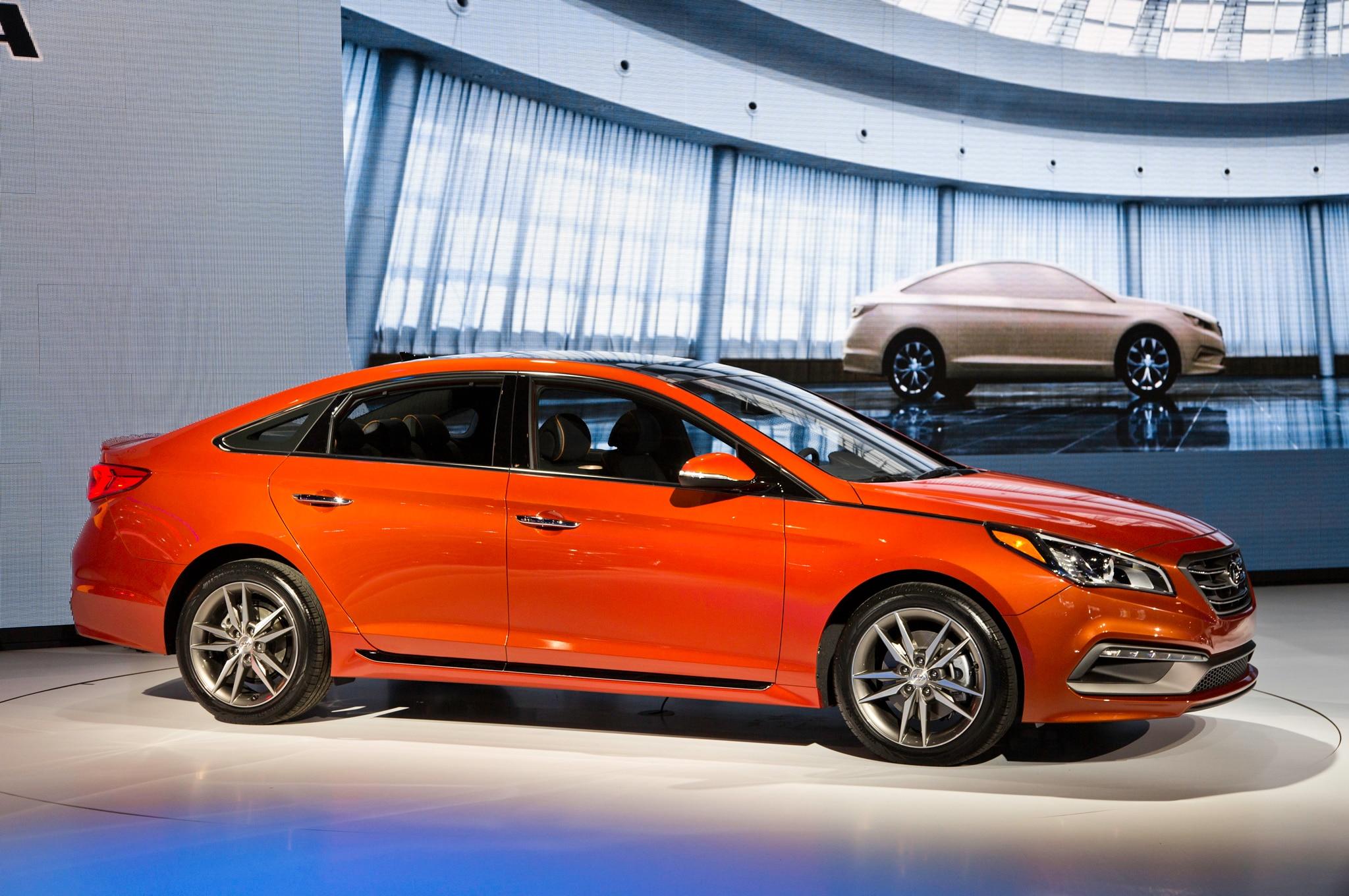 JP Edition 2015 Hyundai Sonata Turbo Revealed for SEMA
