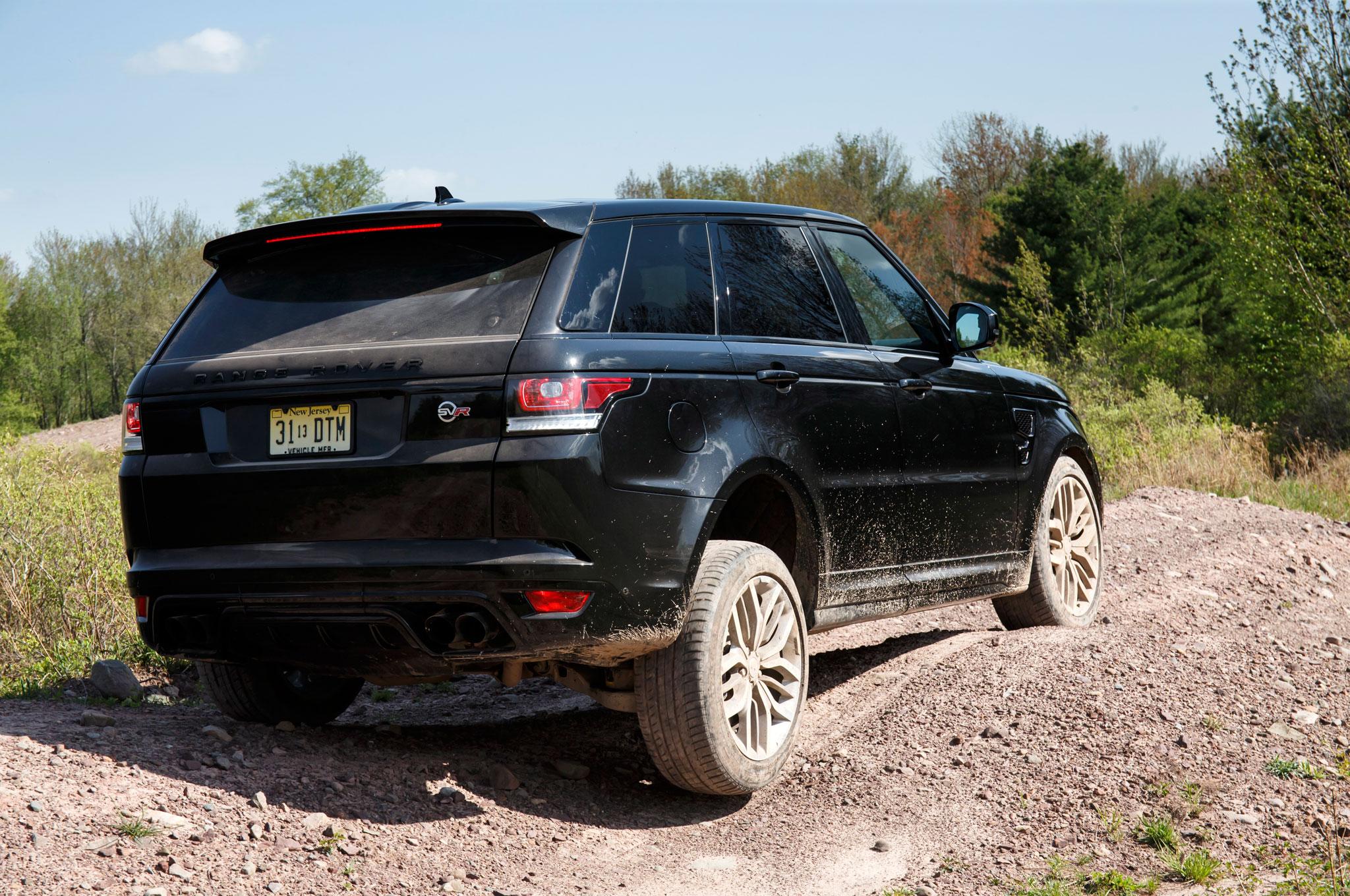 2015 land rover range rover sport svr review automobile. Black Bedroom Furniture Sets. Home Design Ideas