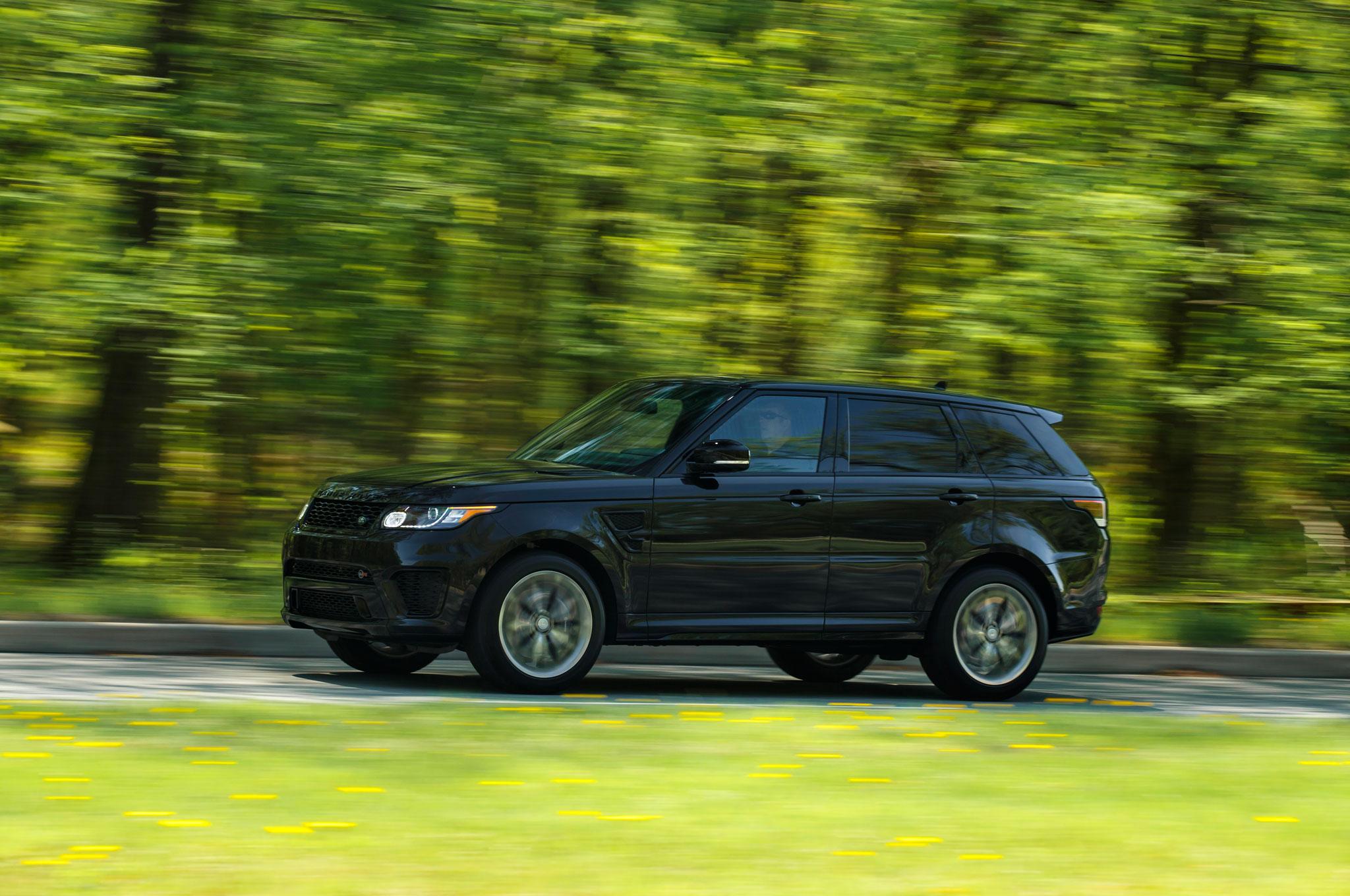 2015 land rover range rover sport svr review automobile magazine. Black Bedroom Furniture Sets. Home Design Ideas