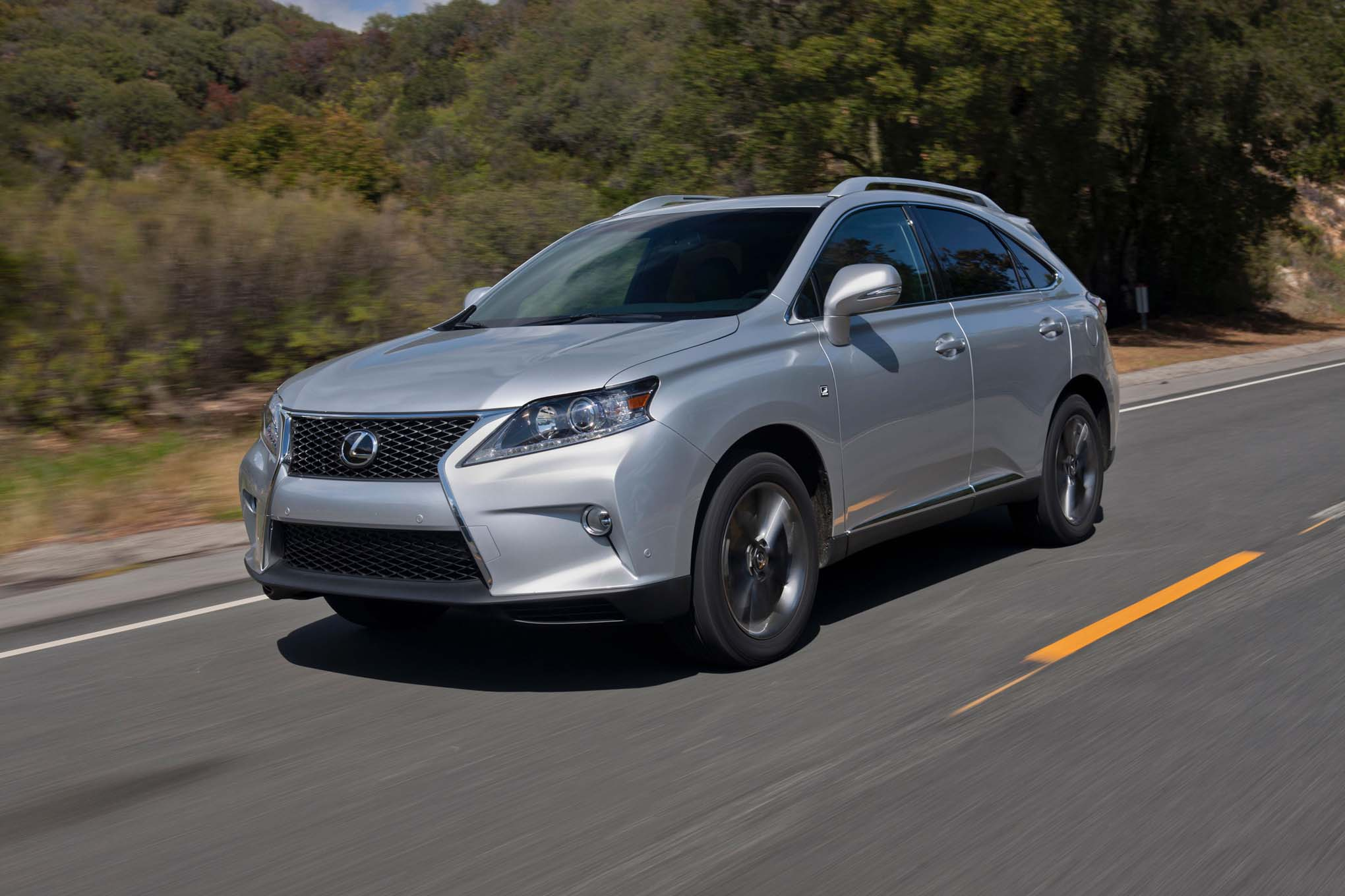 2015 lexus rx350 and rx450h updated - automobile magazine