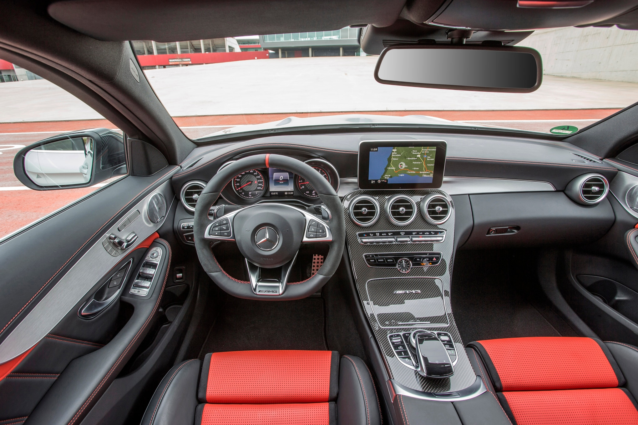 mercedes c63 amg interior 2015 images. Black Bedroom Furniture Sets. Home Design Ideas