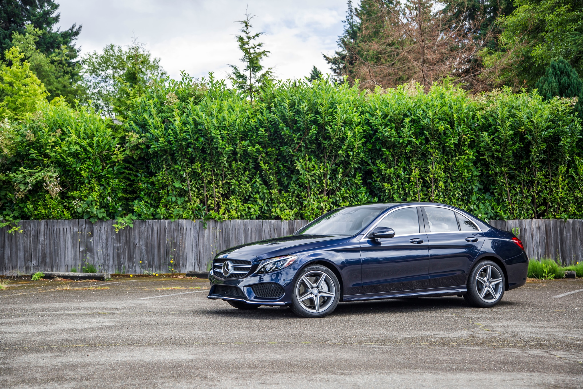 2015 mercedes benz c400 4matic review automobile magazine for Mercedes benz c400 4matic