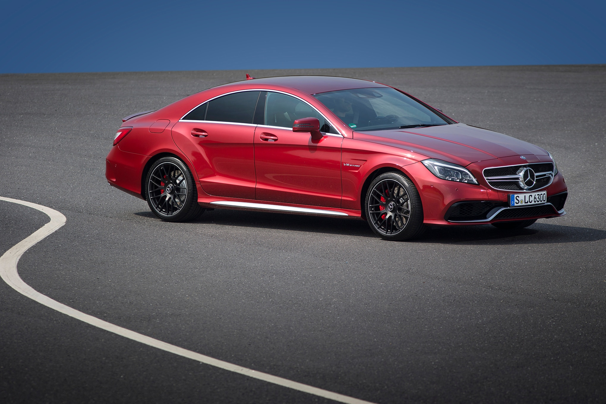 2015 mercedes benz cls debuts multibeam led headlights automobile. Black Bedroom Furniture Sets. Home Design Ideas