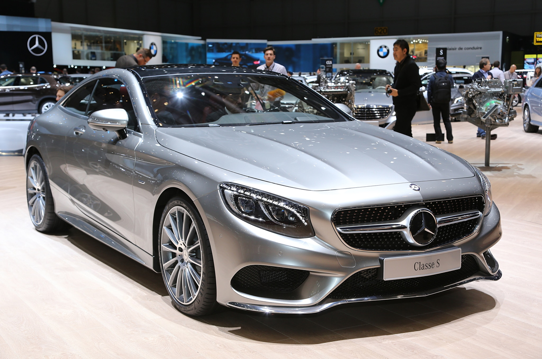 2015 design of the year mercedes benz s class coupe for Mercedes benz s500 coupe