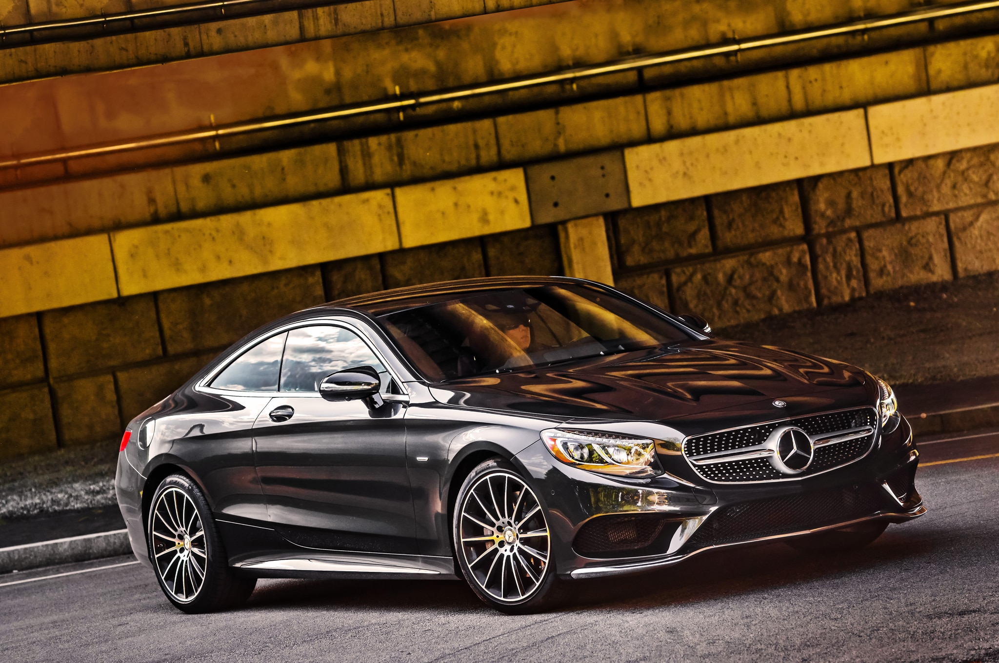 2015 mercedes benz s class coupe to debut at 2014 geneva auto show. Black Bedroom Furniture Sets. Home Design Ideas