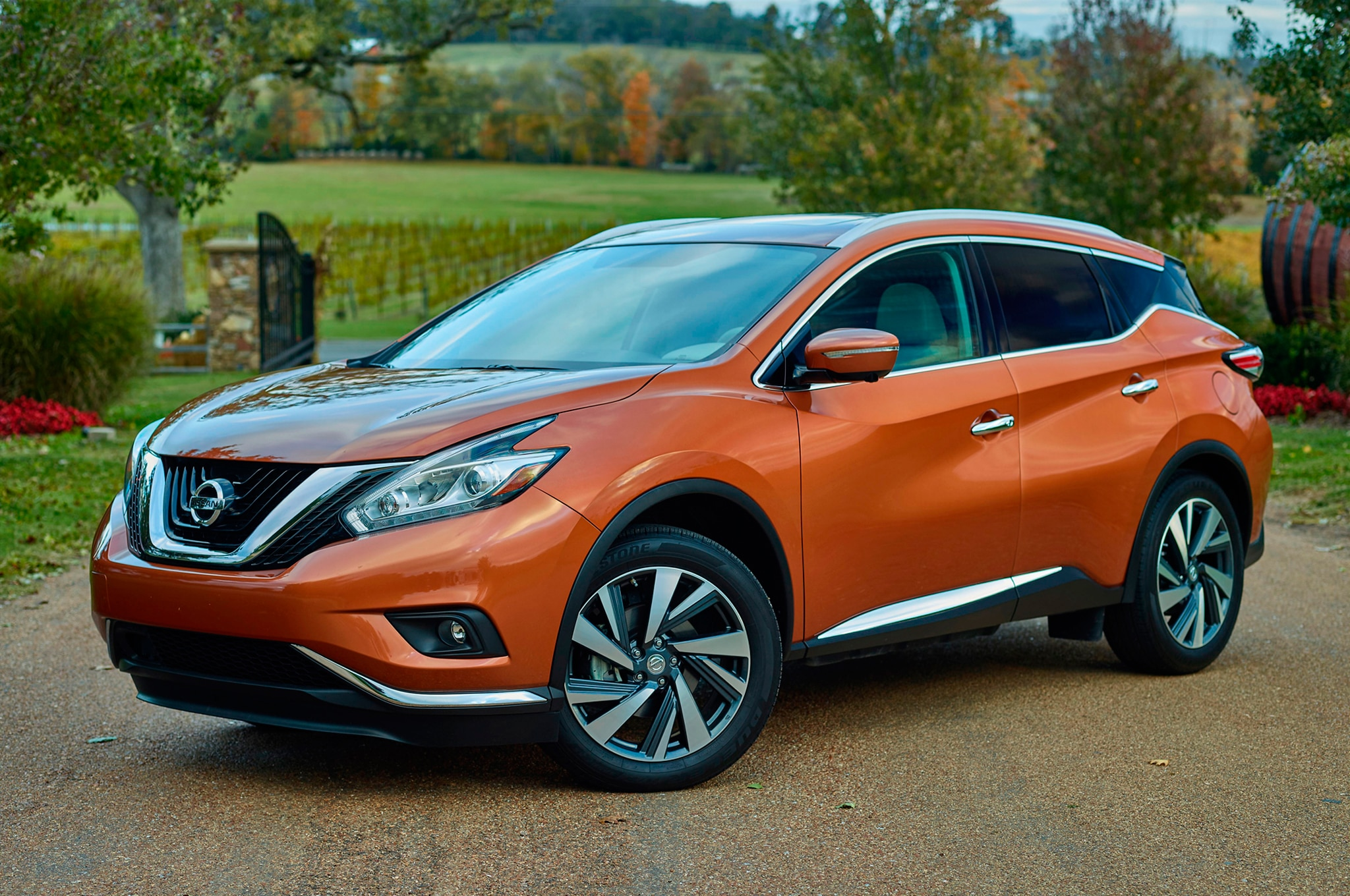 2015 nissan murano debuts in new york automobile magazine. Black Bedroom Furniture Sets. Home Design Ideas