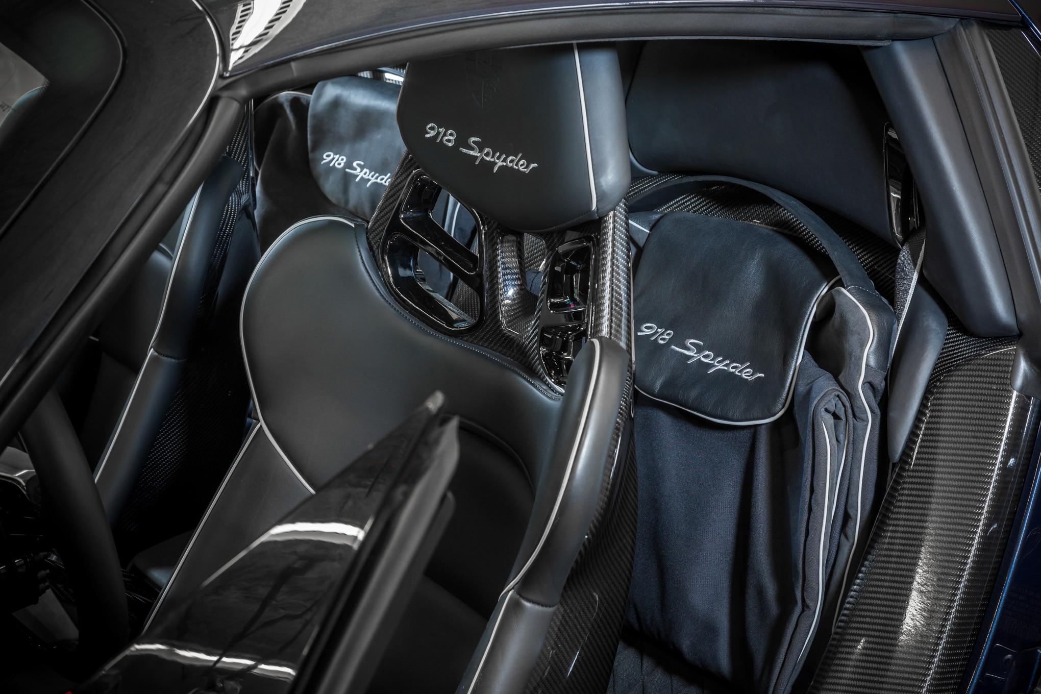Porsche 918 spyder reimagined with a 2018 facelift automobile magazine - Porsche 918 interior ...