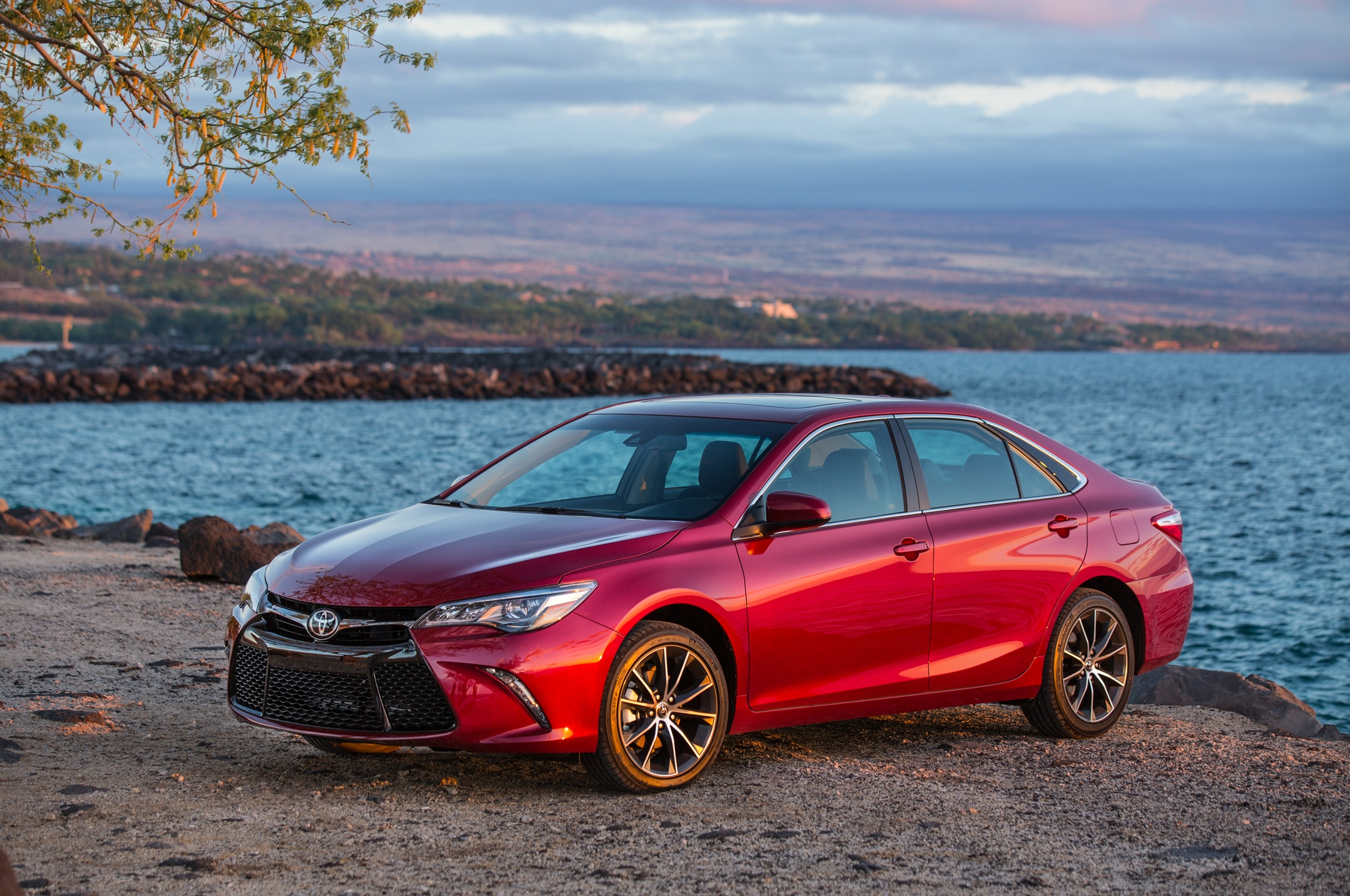 2015 Toyota Camry XSE front three quarters 11 toyota camry leads midsize segment in january 2015  at alyssarenee.co