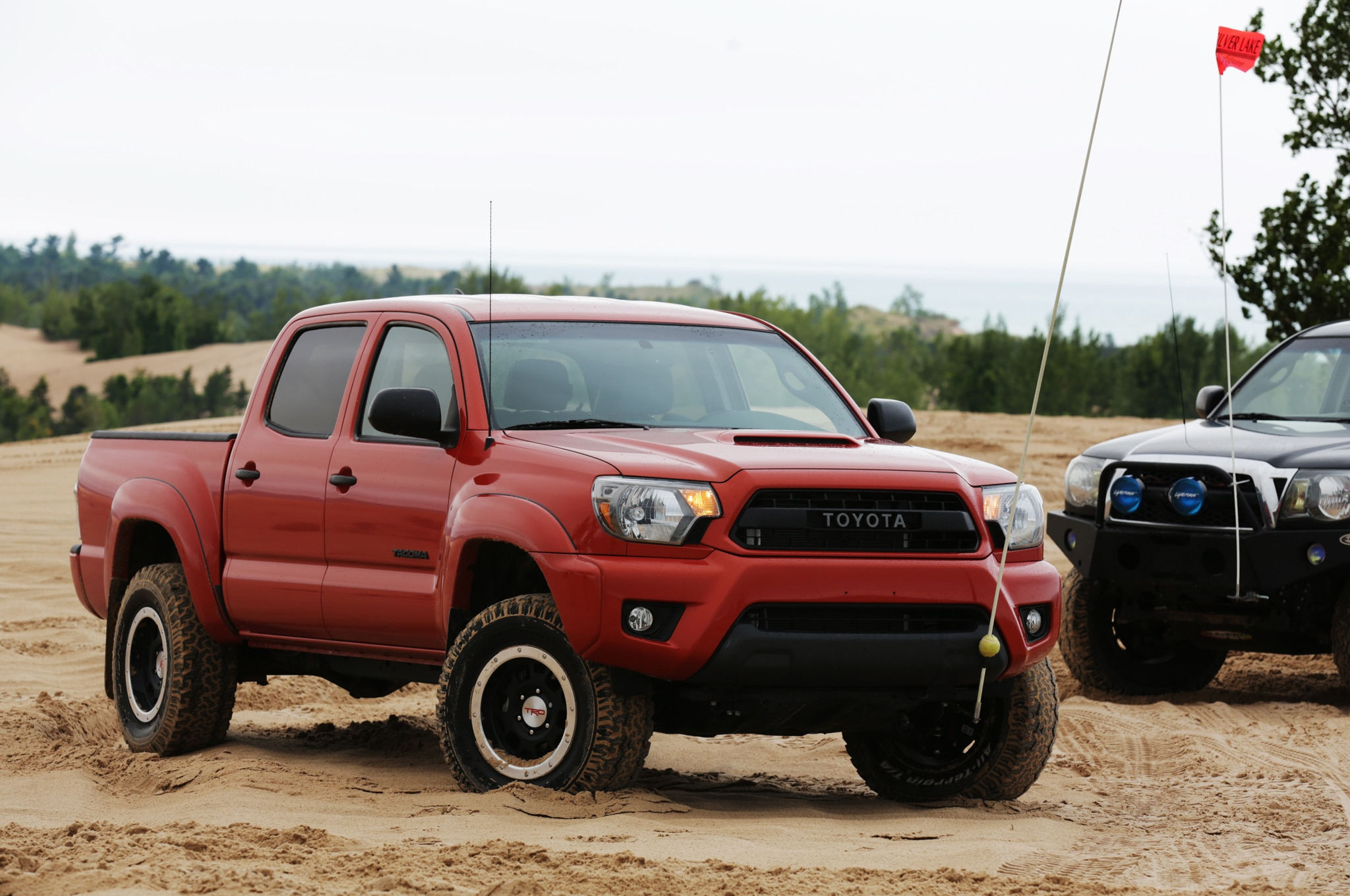 quarter reviews trd motor three cars toyota rating front trend and in tacoma pro motion