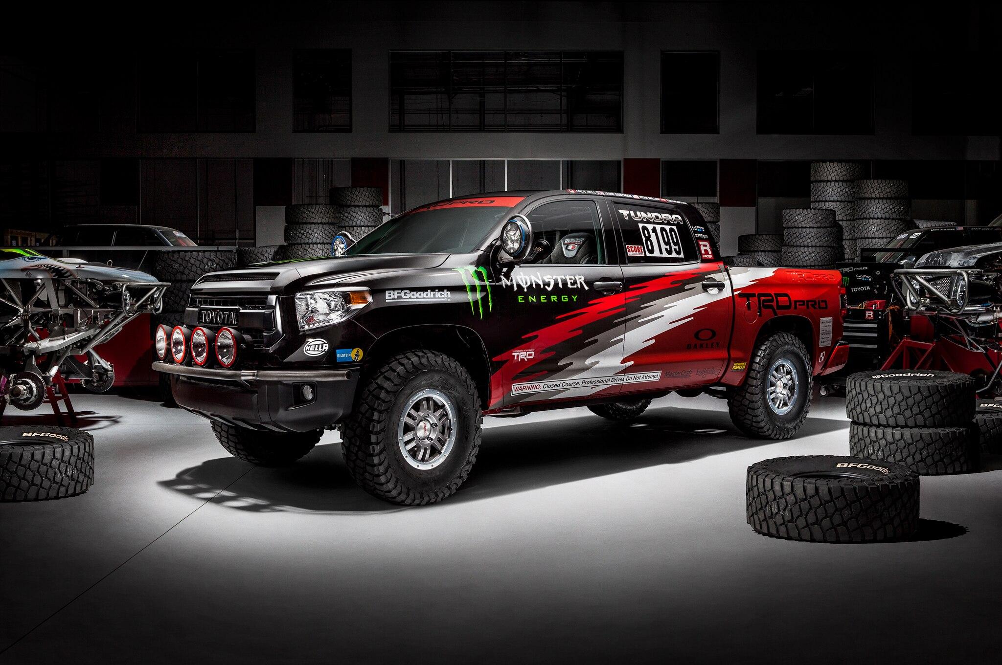 Toyota Tundra TRD Pro to Race in Baja 1000