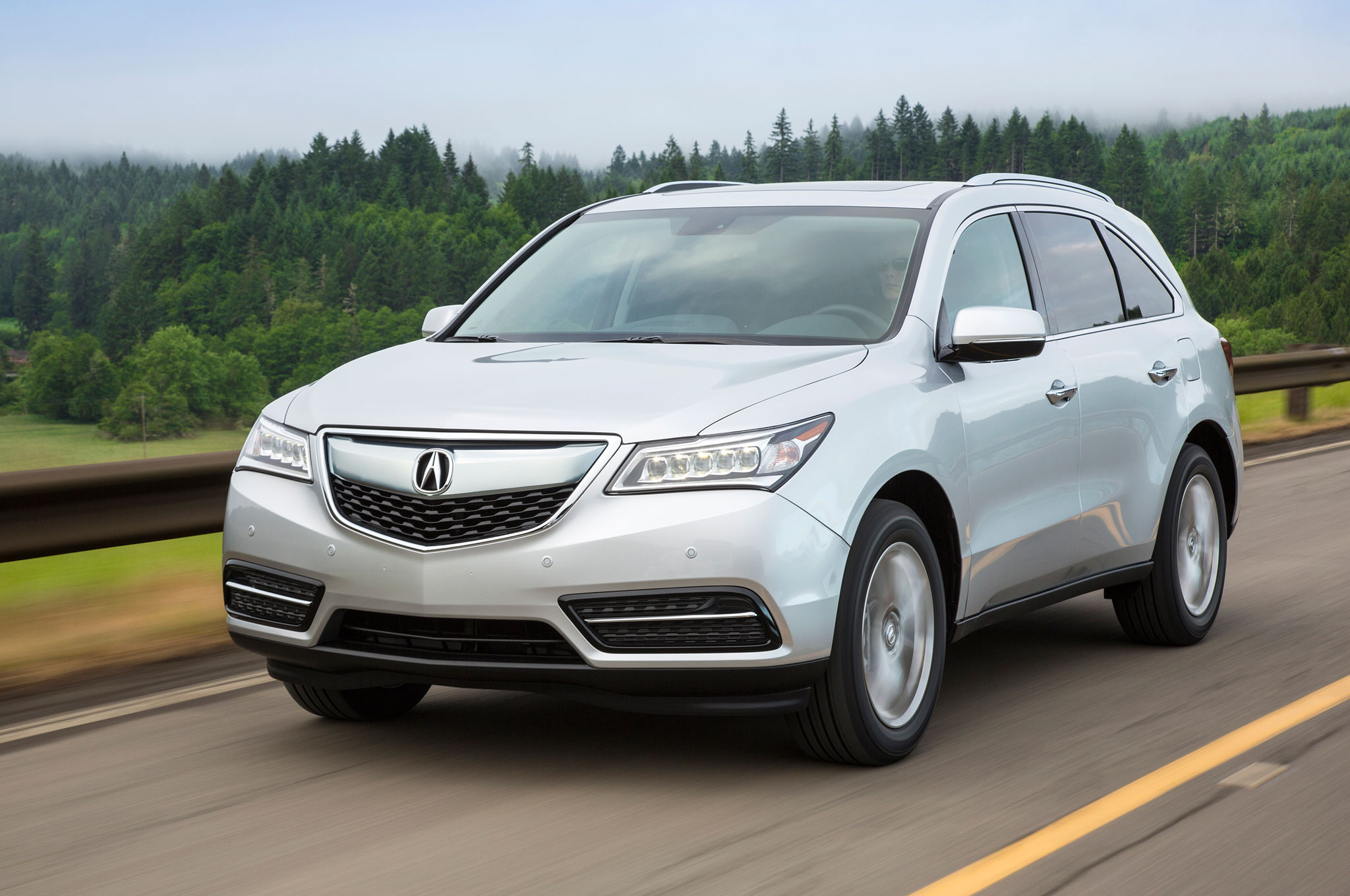 2016 acura mdx updated with nine speed automatic new tech features. Black Bedroom Furniture Sets. Home Design Ideas