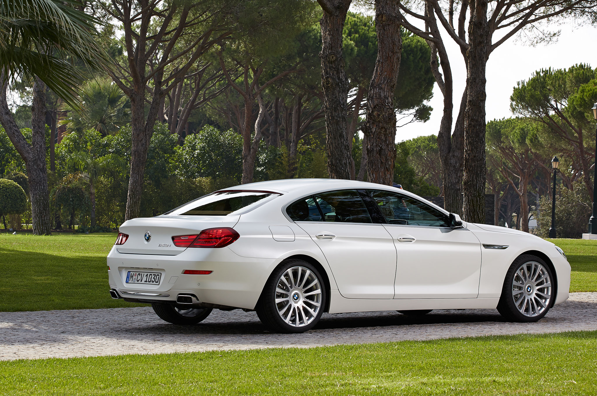 2016 BMW 6 Series Gran Coupe Rear Three Quarter 2