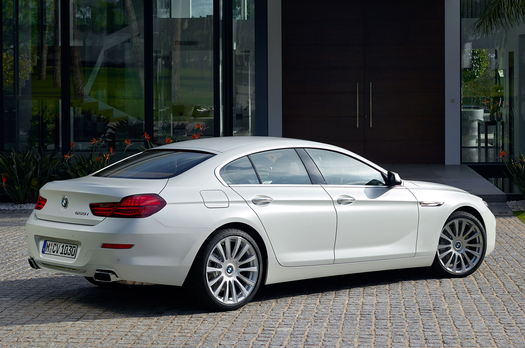 2016 BMW 6 Series Gran Coupe Rear Three Quarter