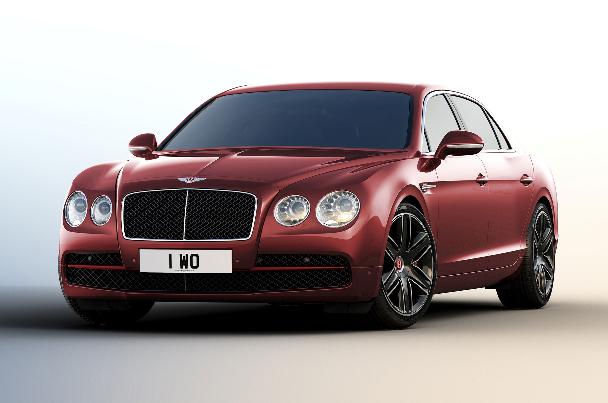 Sky's The Limit: Bentley Flying Spur Meets The Breitling
