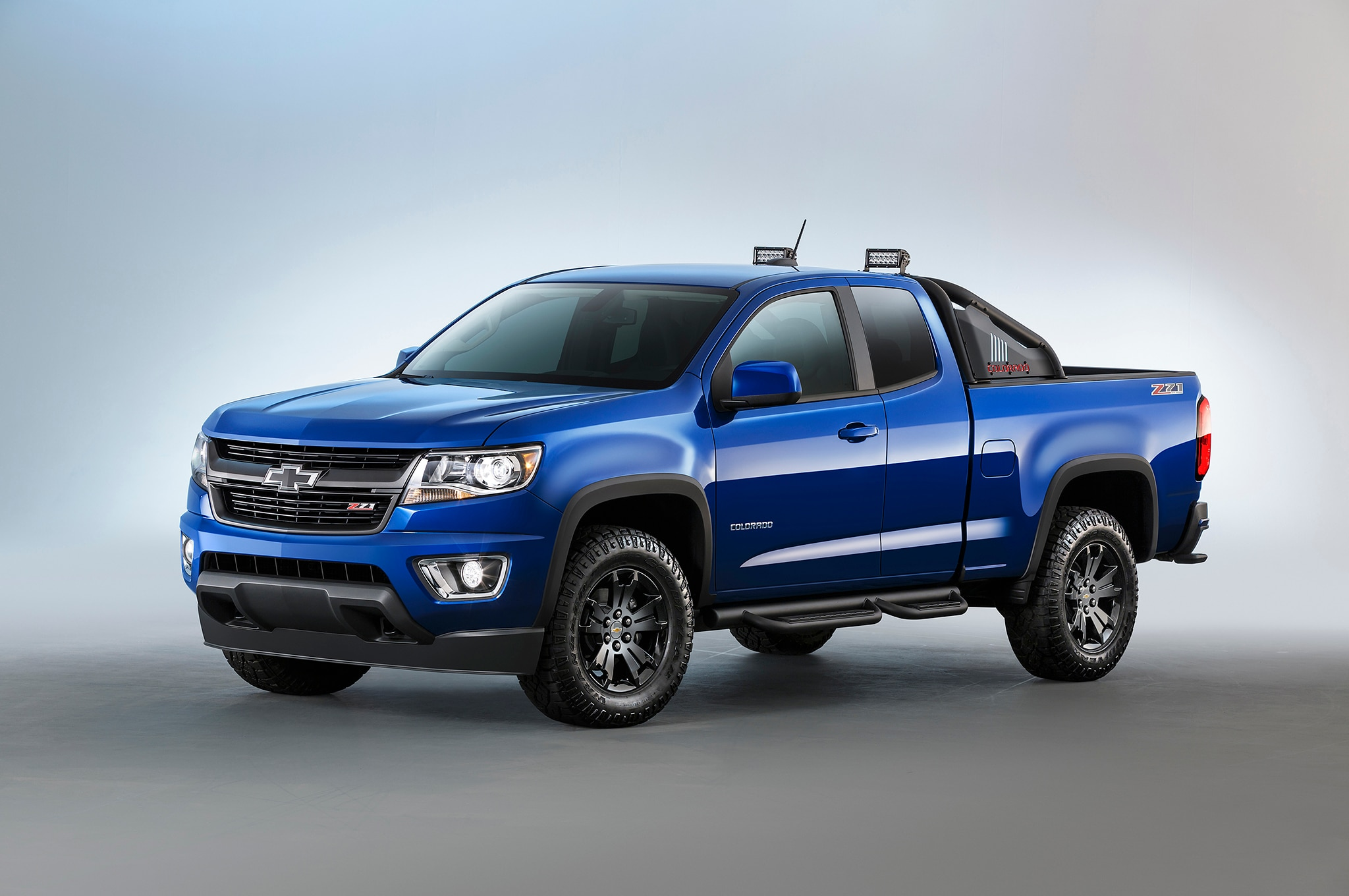 GM, U.S. Army Unveil Chevrolet Colorado ZH2 Fuel Cell ...
