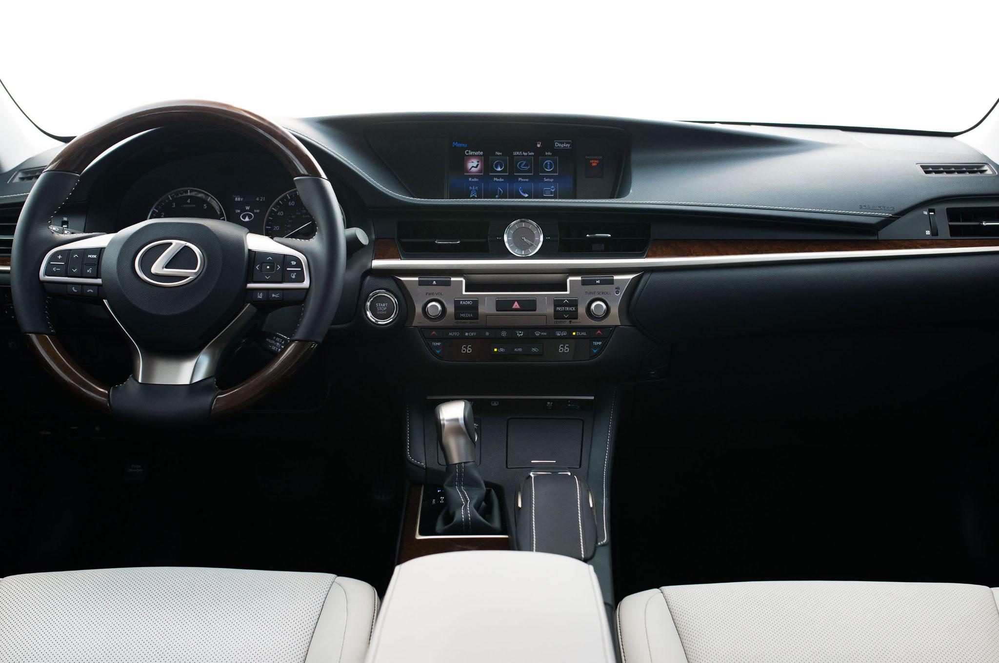 2016 Lexus ES 350 ES 300h Updated With New Look Safety