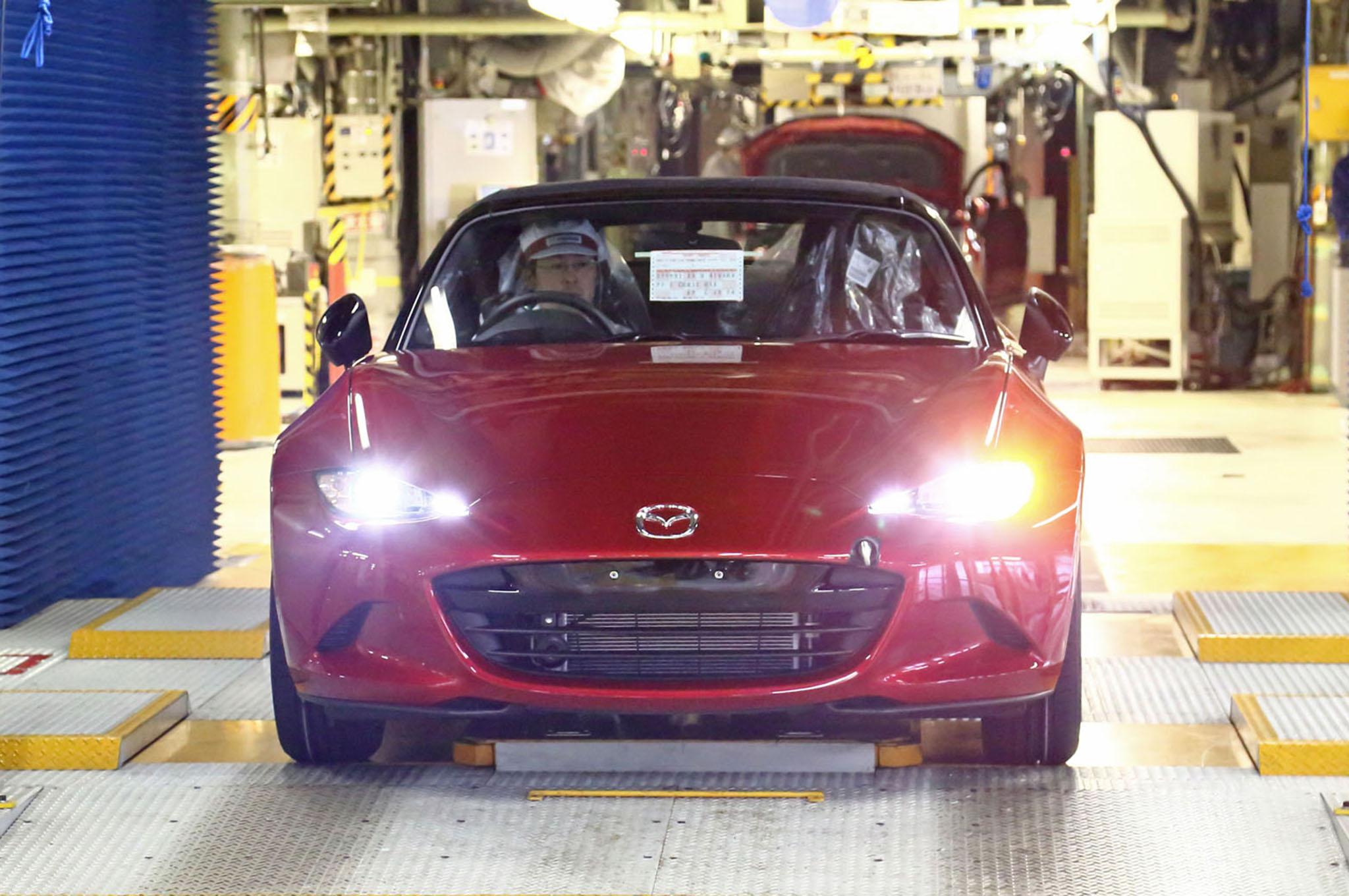 2016 Mazda Miata Production 1