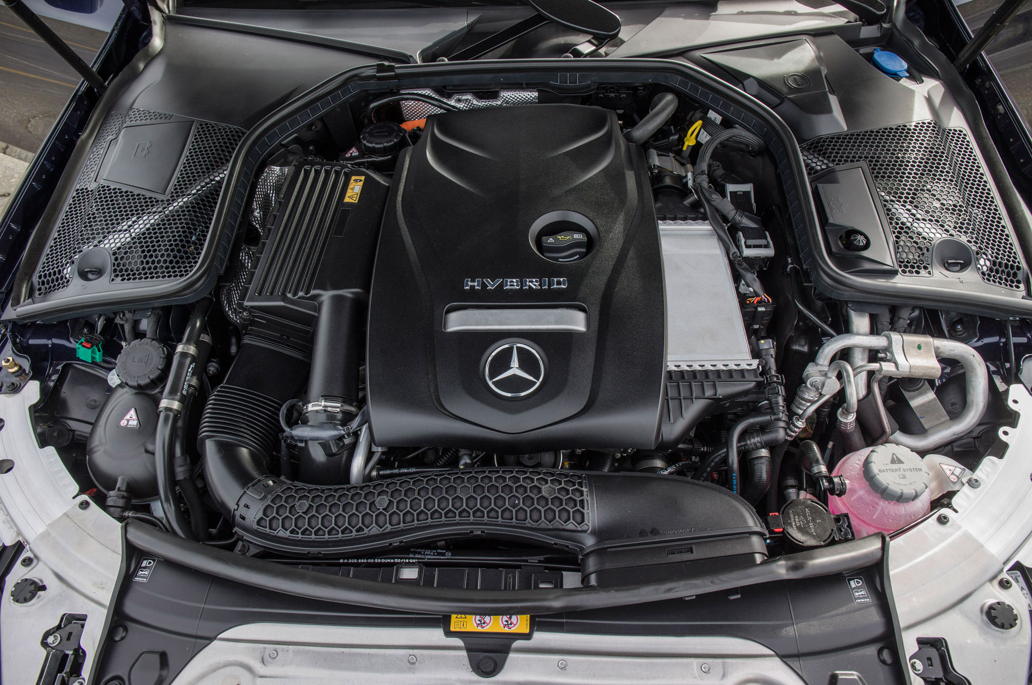 2016 mercedes benz c450 amg 4matic review for Mercedes benz engine