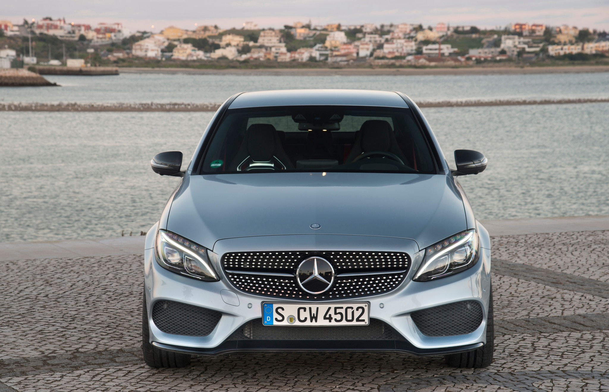 2016 mercedes benz c450 amg 4matic debuts in detroit for Mercedes benz c450 amg